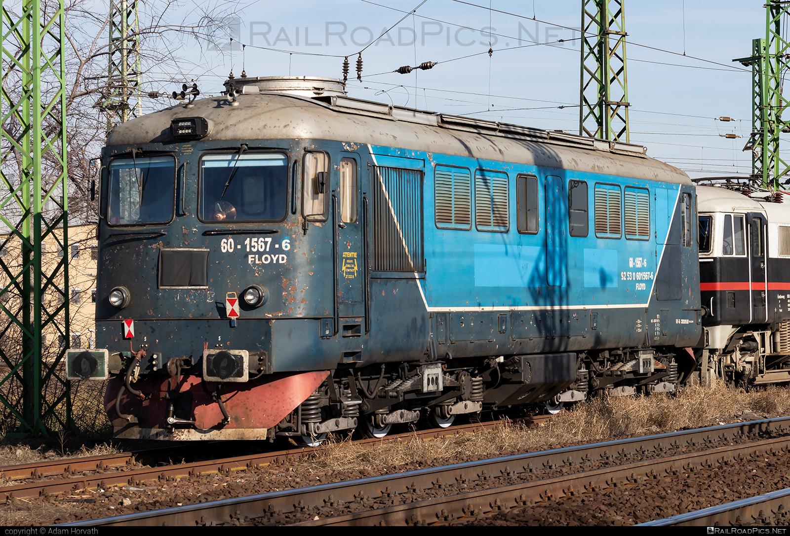 Electroputere Class 60 - 60-1567-6 operated by FLOYD ZRt. #cfr60 #cfrclass60 #electroputere #electroputereClass60 #electroputerecraiova #floyd