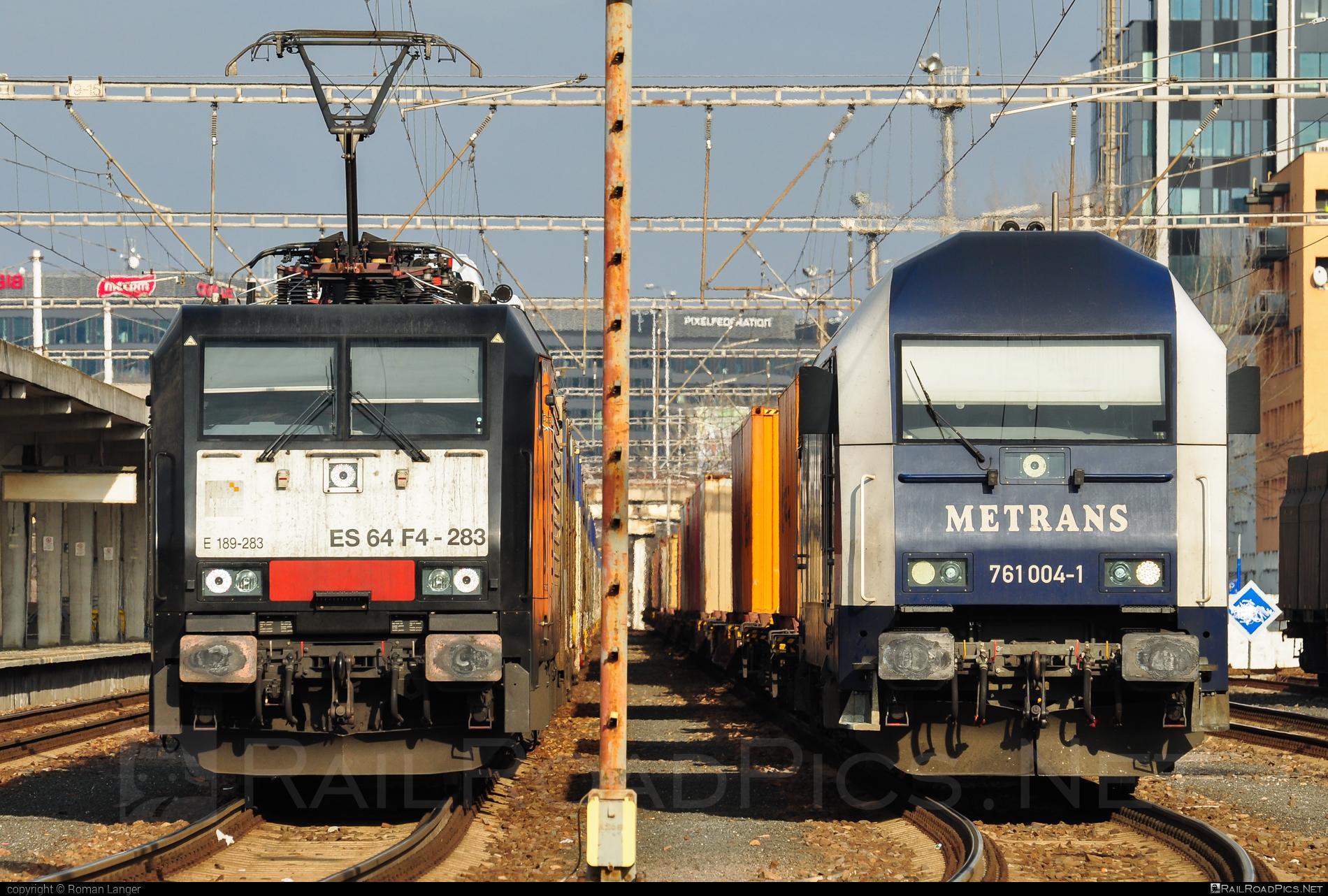 Siemens ES 64 F4 - 189 283-5 operated by ecco-rail GmbH #dispolok #eccorail #eccorailgmbh #es64 #es64f4 #eurosprinter #mitsuirailcapitaleurope #mitsuirailcapitaleuropegmbh #mrce #siemens #siemenses64 #siemenses64f4