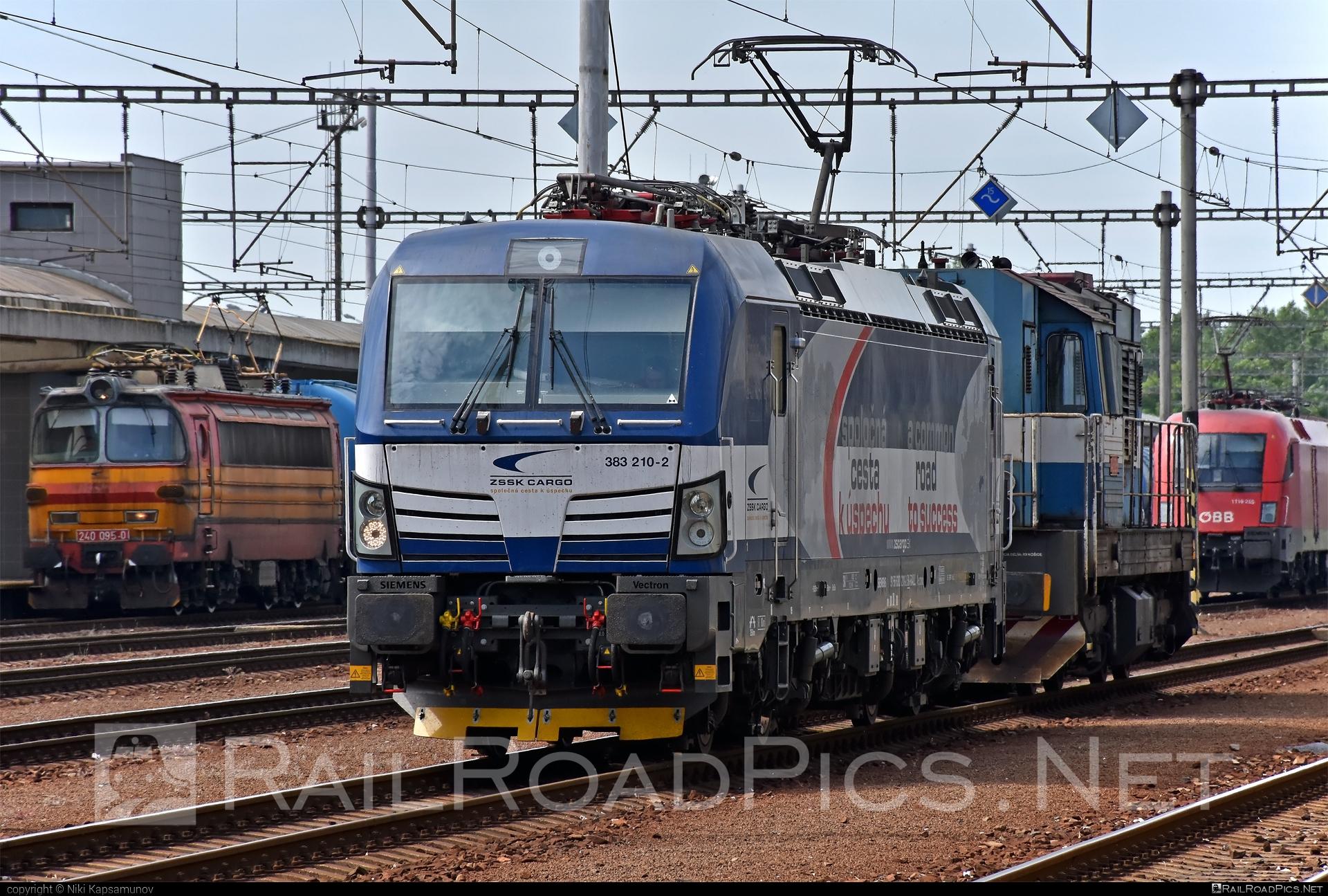 Siemens Vectron MS - 383 210-2 operated by Železničná Spoločnost' Cargo Slovakia a.s. #SRailLease #SRailLeaseSro #ZeleznicnaSpolocnostCargoSlovakia #raill #siemens #siemensvectron #siemensvectronms #vectron #vectronms #zsskcargo