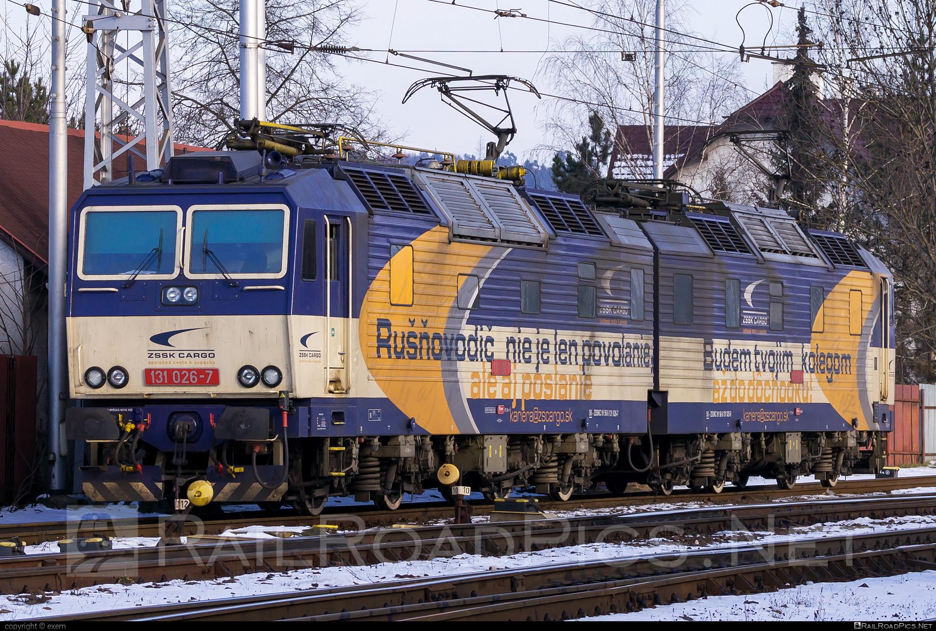 Škoda 58E - 131 026-7 operated by Železničná Spoločnost' Cargo Slovakia a.s. #ZeleznicnaSpolocnostCargoSlovakia #e4791 #locomotive131 #skoda #skoda58e #zsskcargo