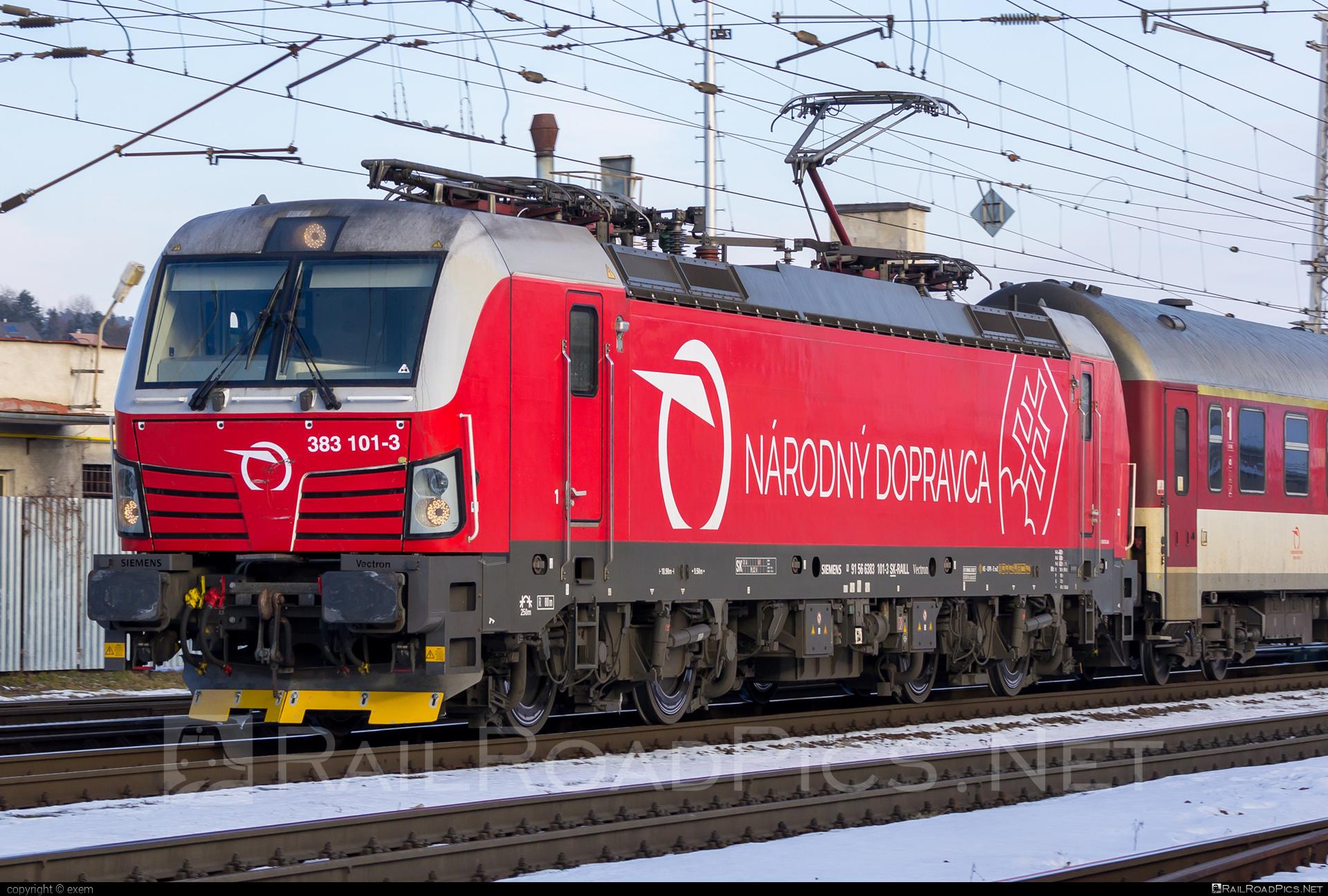 Siemens Vectron MS - 383 101-3 operated by Železničná Spoločnost' Slovensko, a.s. #RollingStockLease #RollingStockLeaseSro #ZeleznicnaSpolocnostSlovensko #raill #siemens #siemensvectron #siemensvectronms #vectron #vectronms #zssk