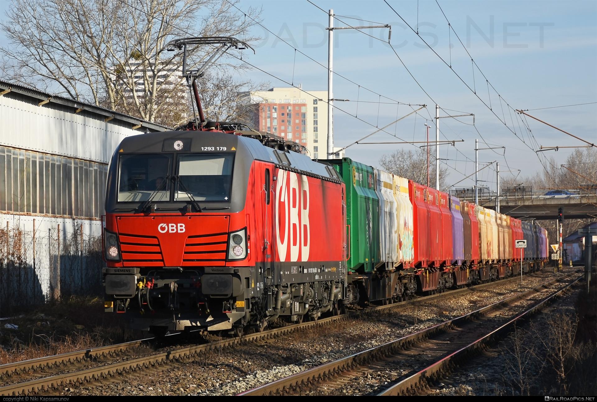 Siemens Vectron MS - 1293 179 operated by Rail Cargo Austria AG #flatwagon #obb #osterreichischebundesbahnen #rcw #siemens #siemensvectron #siemensvectronms #vectron #vectronms