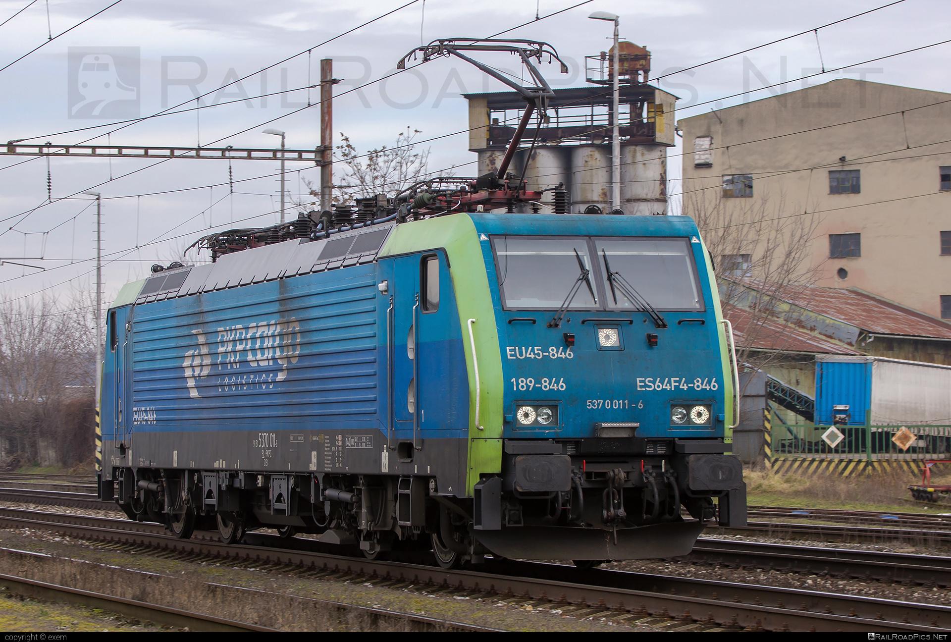 Siemens ES 64 F4 - 5370 011-6 operated by CENTRAL RAILWAYS s.r.o. #crw #es64 #es64f4 #eurosprinter #pkp #pkpcargo #pkpcargospolkaakcyjna #siemens #siemenses64 #siemenses64f4