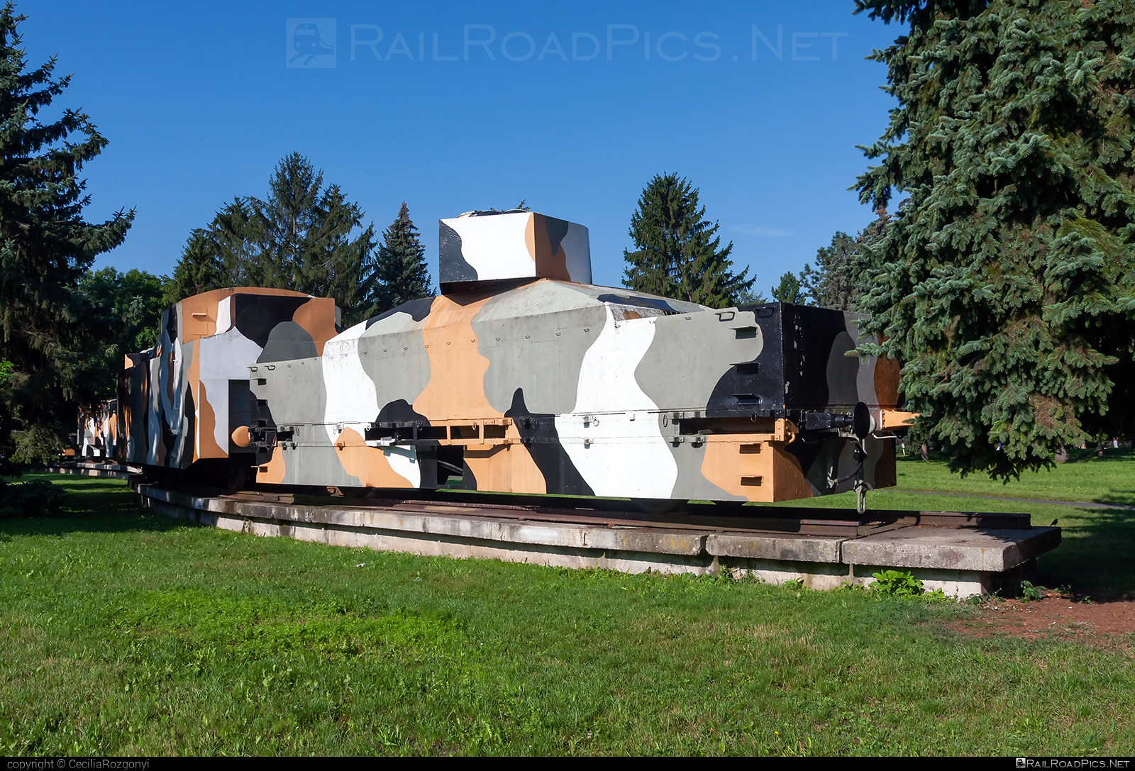Class Unknown - Unknown - Armored train `Hurban` (replica) - Unknown vehicle ID operated by None