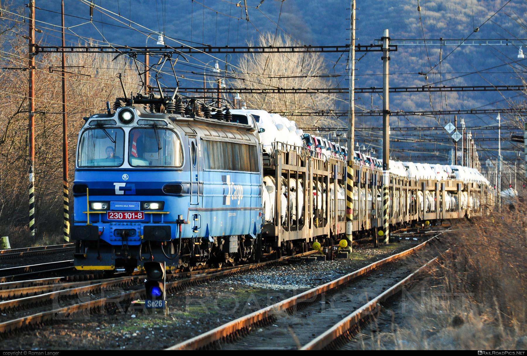 Škoda 47E - 230 101-8 operated by ČD Cargo, a.s. #carcarrierwagon #cdcargo #laminatka #locomotive240 #skoda #skoda47e