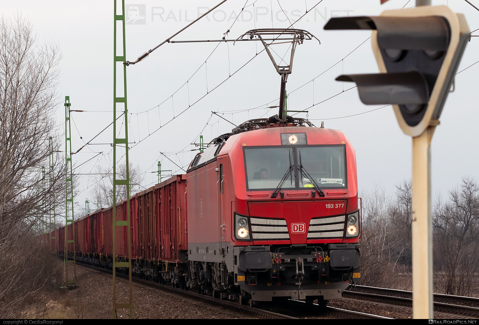 Siemens Vectron MS - 193 377 operated by DB Cargo Hungária Kft #db #dbcargo #dbcargohungaria #deutschebahn #openwagon #siemens #siemensvectron #siemensvectronms #vectron #vectronms