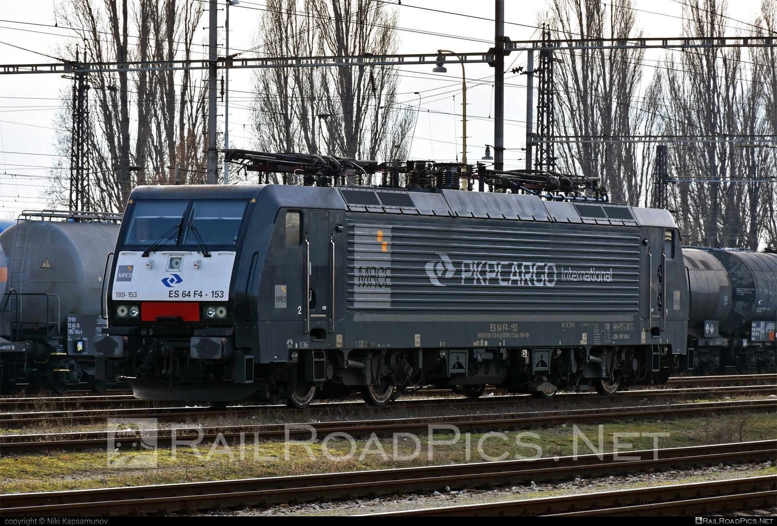Siemens ES 64 F4 - 189 153-0 operated by PKP CARGO INTERNATIONAL a.s. #dispolok #es64 #es64f4 #eurosprinter #mitsuirailcapitaleurope #mitsuirailcapitaleuropegmbh #mrce #pkpcargo #pkpcargointernational #pkpcargointernationalas #siemens #siemenses64 #siemenses64f4