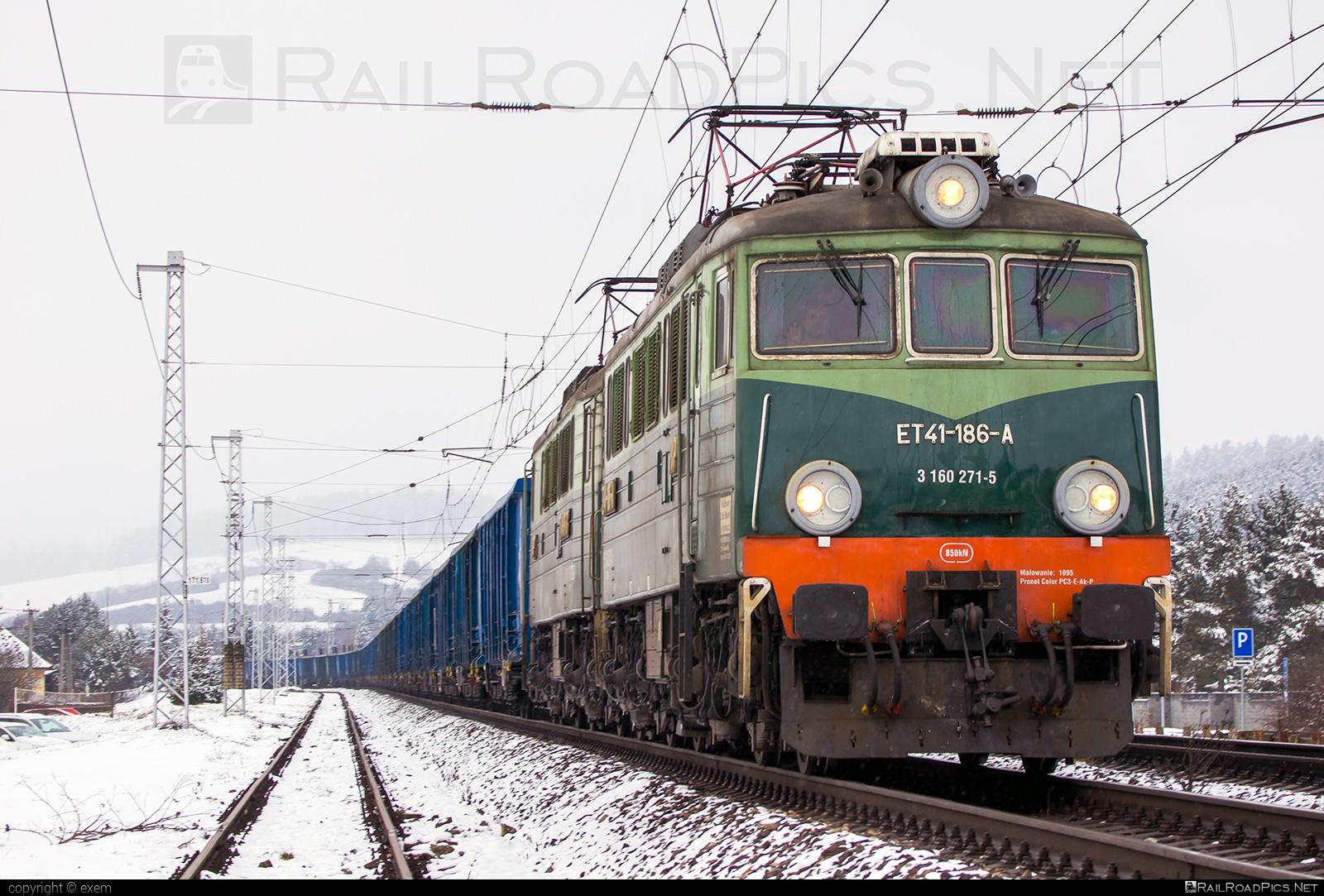 H. Cegielski - Poznań PKP Class ET41 - 3 160 271-5 operated by PKP CARGO Spólka Akcyjna #Cegielski #HCegielski #HCegielskiPoznan #et41 #pkp #pkpcargo #pkpcargospolkaakcyjna #pkpet41