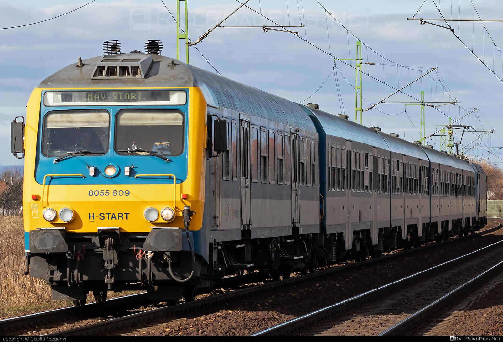 Class BD - BDt - Halbi - 8055 809 operated by MÁV-START ZRt. #mav #mavstart #mavstartzrt