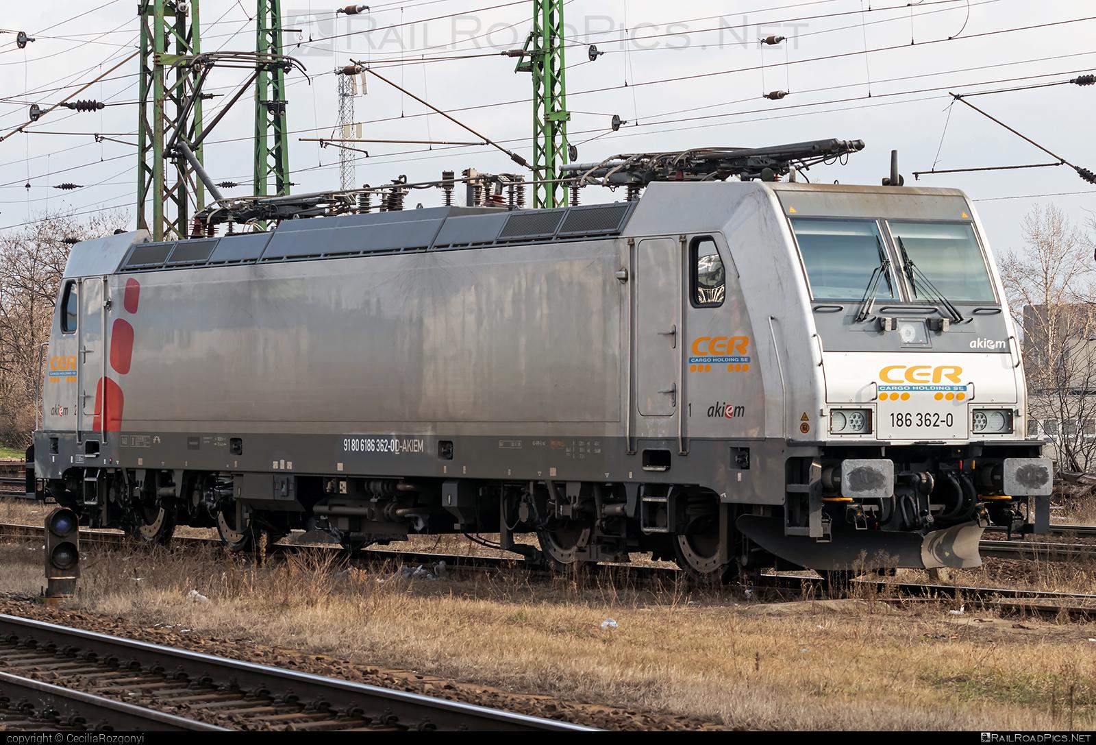 Bombardier TRAXX F140 MS - 186 362-0 operated by Central-European Railway AG. #akiem #akiemsas #bombardier #bombardiertraxx #cer #traxx #traxxf140 #traxxf140ms