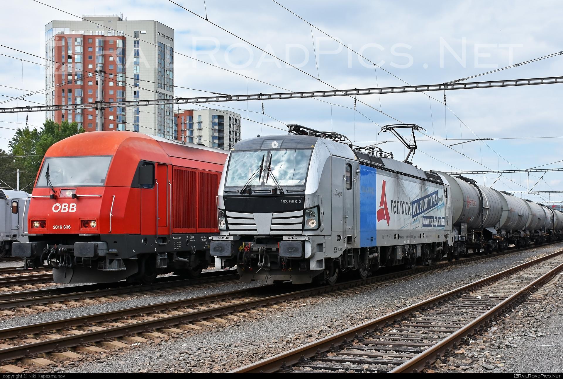 Siemens Vectron AC - 193 993-3 operated by Retrack GmbH & Co. KG #kesselwagen #railpool #railpoolgmbh #retrack #retrackgmbh #siemens #siemensvectron #siemensvectronac #tankwagon #vectron #vectronac