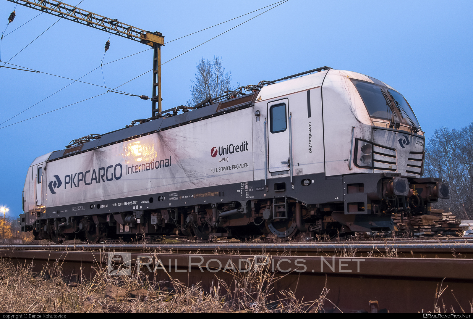 Siemens Vectron MS - 383 055 operated by PKP CARGO INTERNATIONAL a.s. #pkpcargo #pkpcargointernational #pkpcargointernationalas #siemens #siemensvectron #siemensvectronms #vectron #vectronms