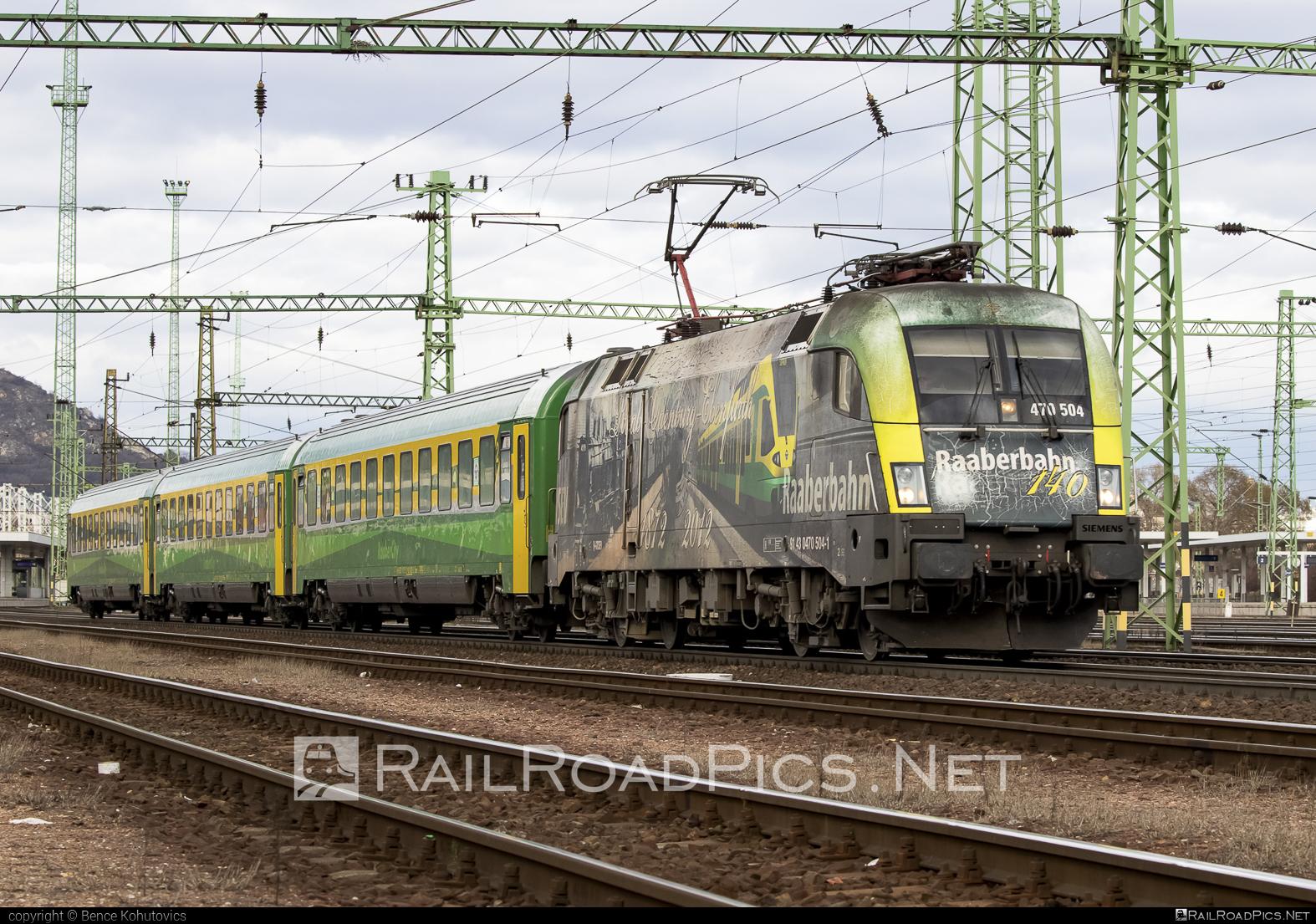 Siemens ES 64 U2 - 470 504 operated by GYSEV - Györ-Sopron-Ebenfurti Vasut Részvénytarsasag #es64 #es64u #es64u2 #eurosprinter #gyorsopronebenfurtivasutreszvenytarsasag #gysev #raaberbahn #siemens #siemenses64 #siemenses64u #siemenses64u2 #siemenstaurus #taurus #tauruslocomotive