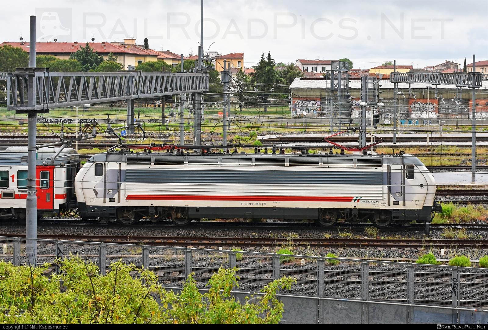 Ansaldo Trasporti Class E.402B - 2402 130-5 operated by Trenitalia S.p.A. #ansaldo402 #ansaldoe402 #ansaldoe402b #ansaldotrasporti #e402 #e402b #ferroviedellostato #fs #fsitaliane #trenitalia #trenitaliaspa