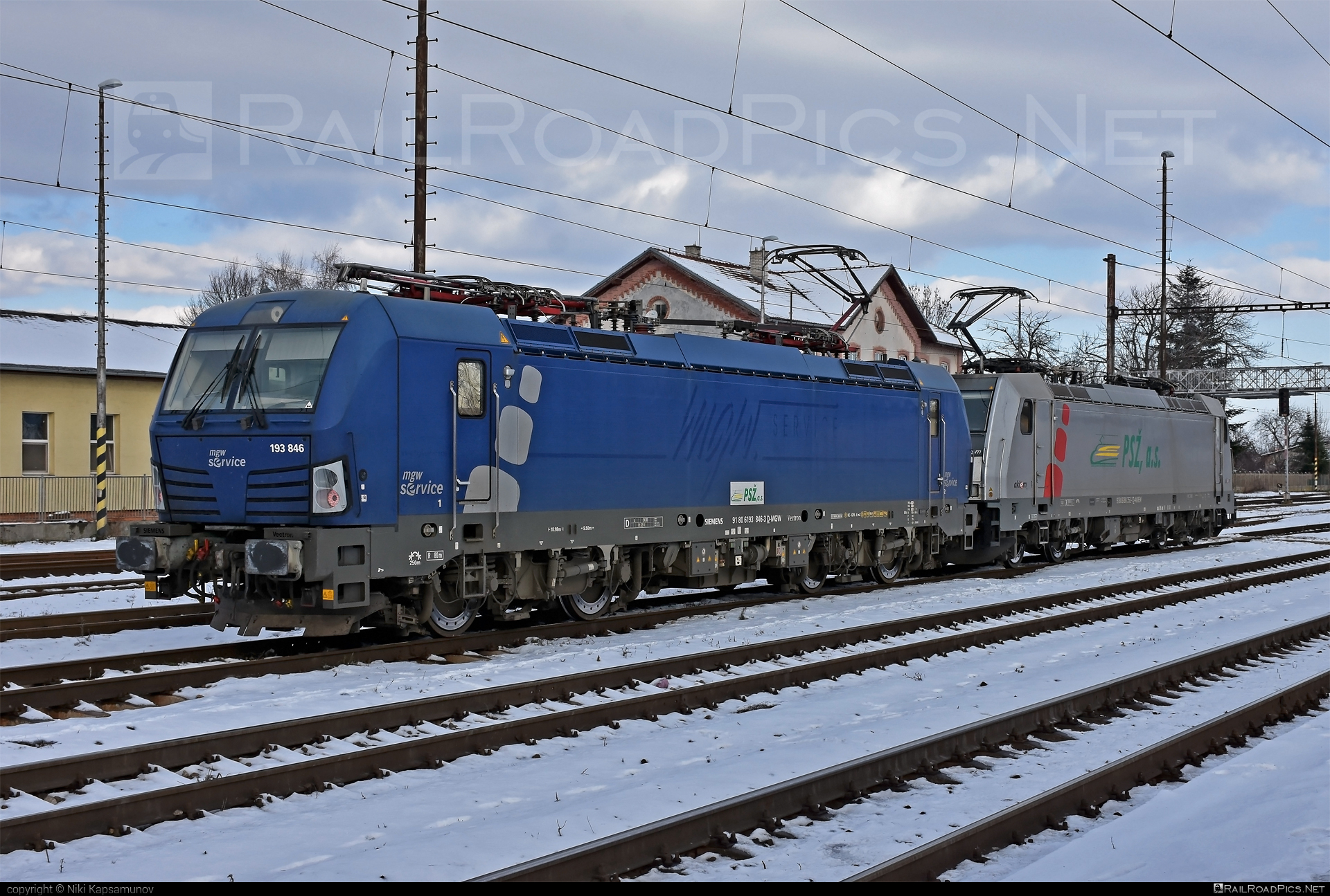 Siemens Vectron MS - 193 846 operated by Prvá Slovenská železničná, a.s. #mgw #mgwServiceGmbH #prvaslovenskazeleznicna #prvaslovenskazeleznicnaas #psz #siemens #siemensvectron #siemensvectronms #vectron #vectronms