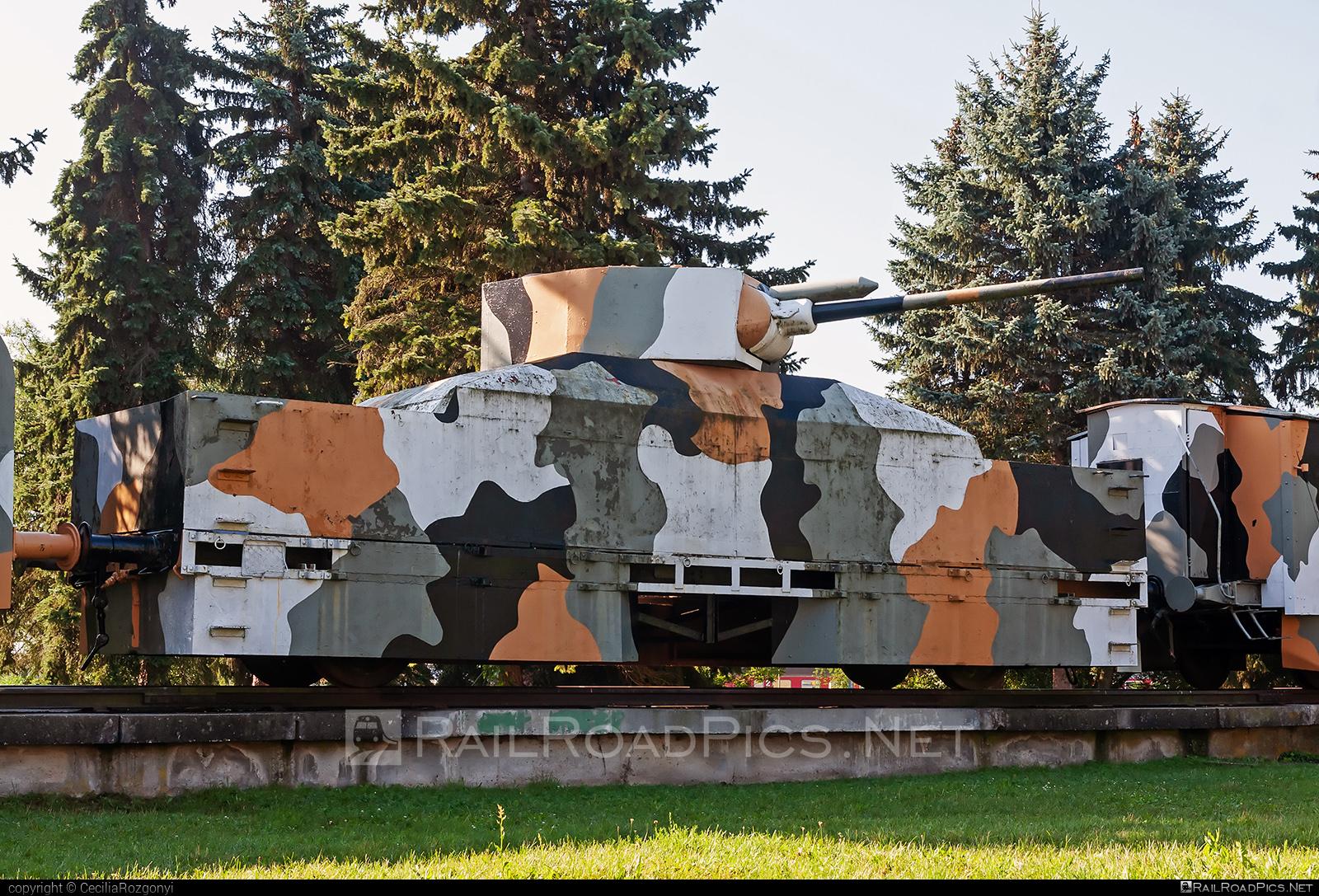 Class Unknown - Unknown - Armored train `Hurban` (replica) - No vehicle ID operated by None #armoredtrain #armoredtrainhurban