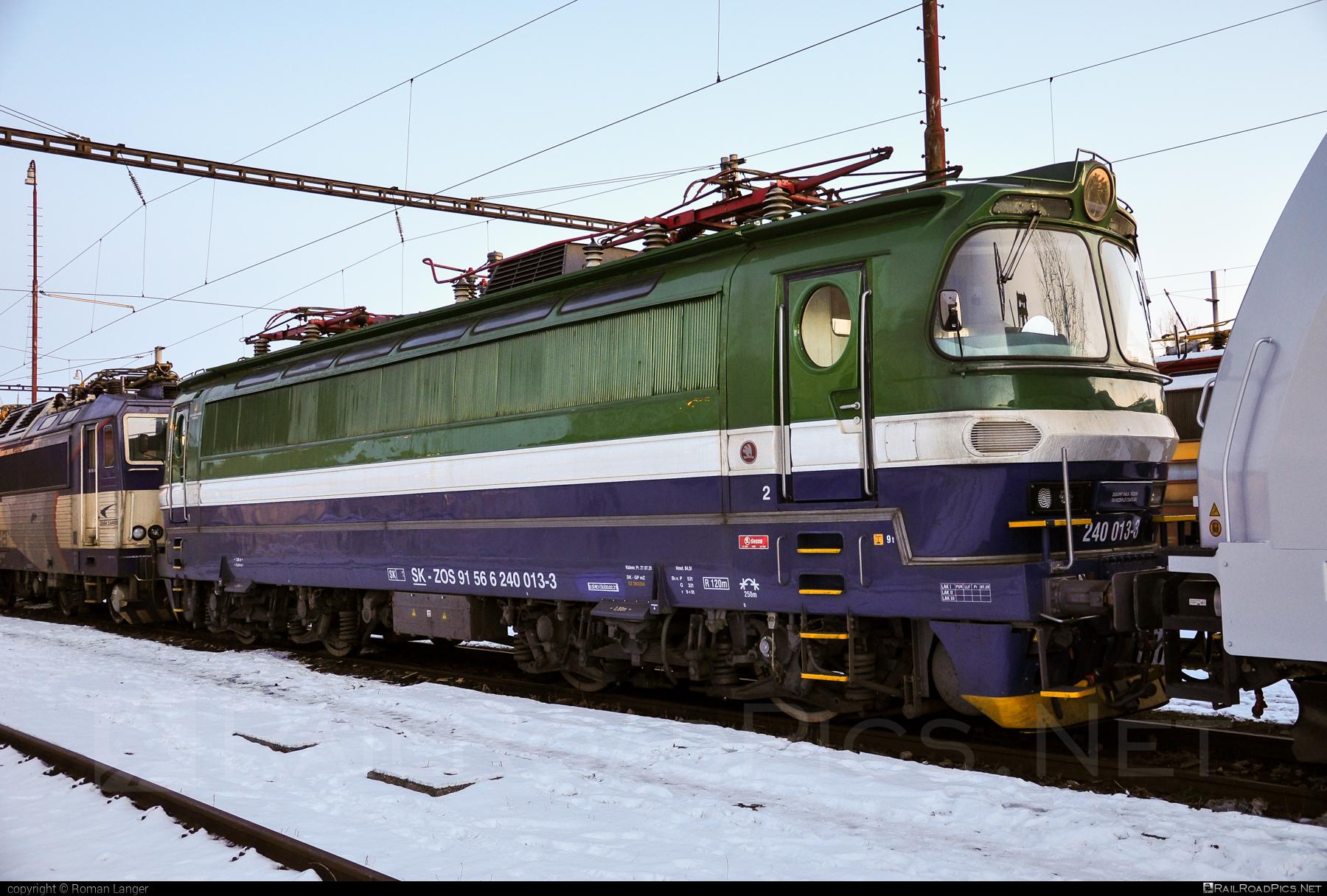 Škoda 47E - 240 013-3 operated by ZOS ZVOLEN s.r.o. #laminatka #locomotive240 #skoda #skoda47e #zos #zoszvolen