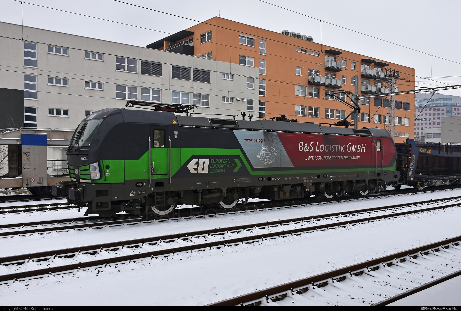 Siemens Vectron AC - 193 284 operated by Wiener Lokalbahnen Cargo GmbH #ell #ellgermany #eloc #europeanlocomotiveleasing #siemens #siemensvectron #siemensvectronac #vectron #vectronac #wienerlokalbahnencargo #wienerlokalbahnencargogmbh #wlc