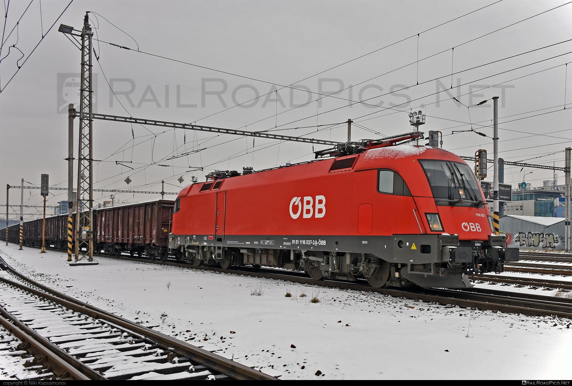 Siemens ES 64 U2 - 1116 037 operated by Rail Cargo Austria AG #es64 #es64u #es64u2 #eurosprinter #obb #osterreichischebundesbahnen #rcw #siemens #siemenses64 #siemenses64u #siemenses64u2 #siemenstaurus #taurus #tauruslocomotive