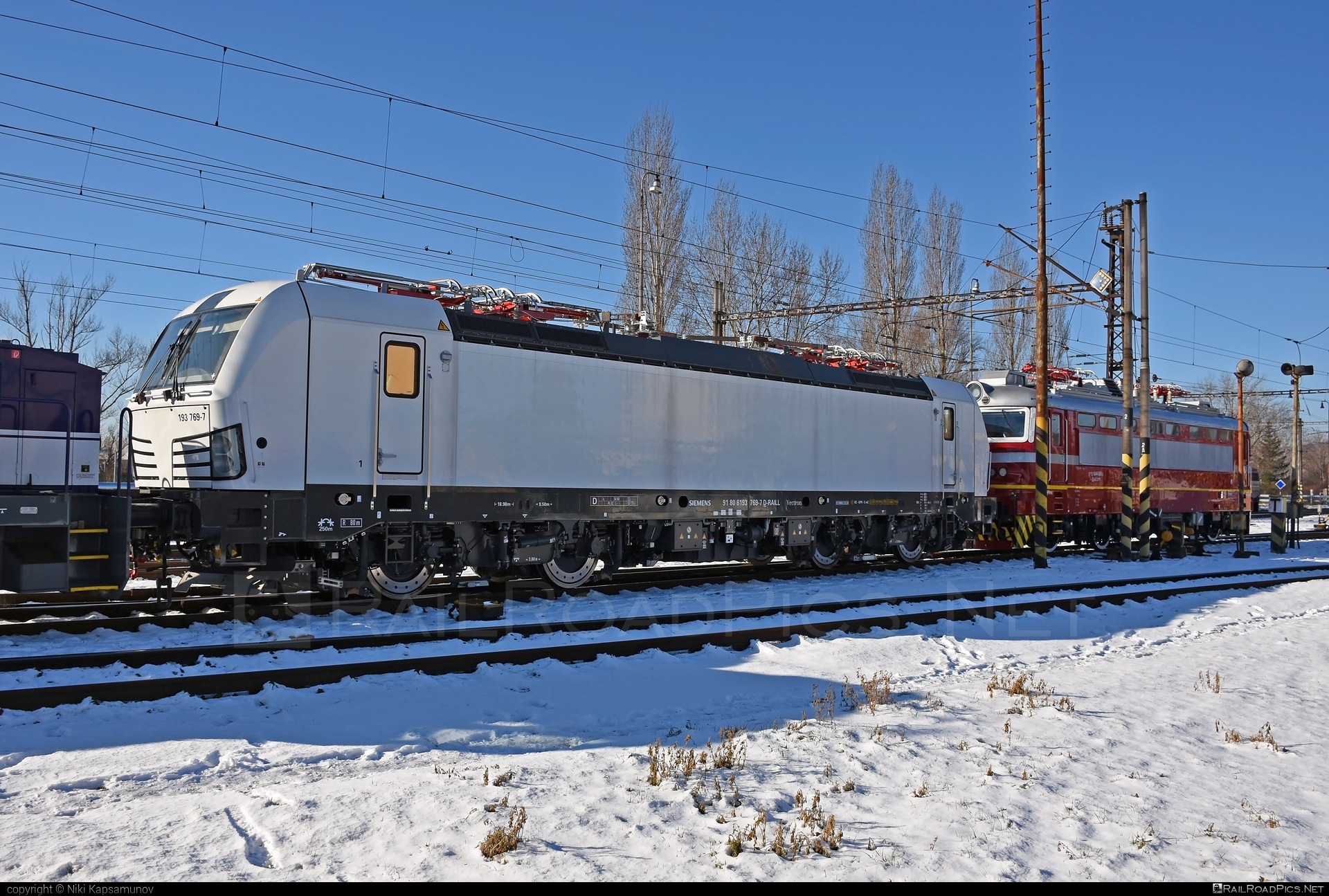 Siemens Vectron MS - 193 769-7 operated by Unknown #RollingStockLease #RollingStockLeaseSro #raill #siemens #siemensvectron #siemensvectronms #vectron #vectronms