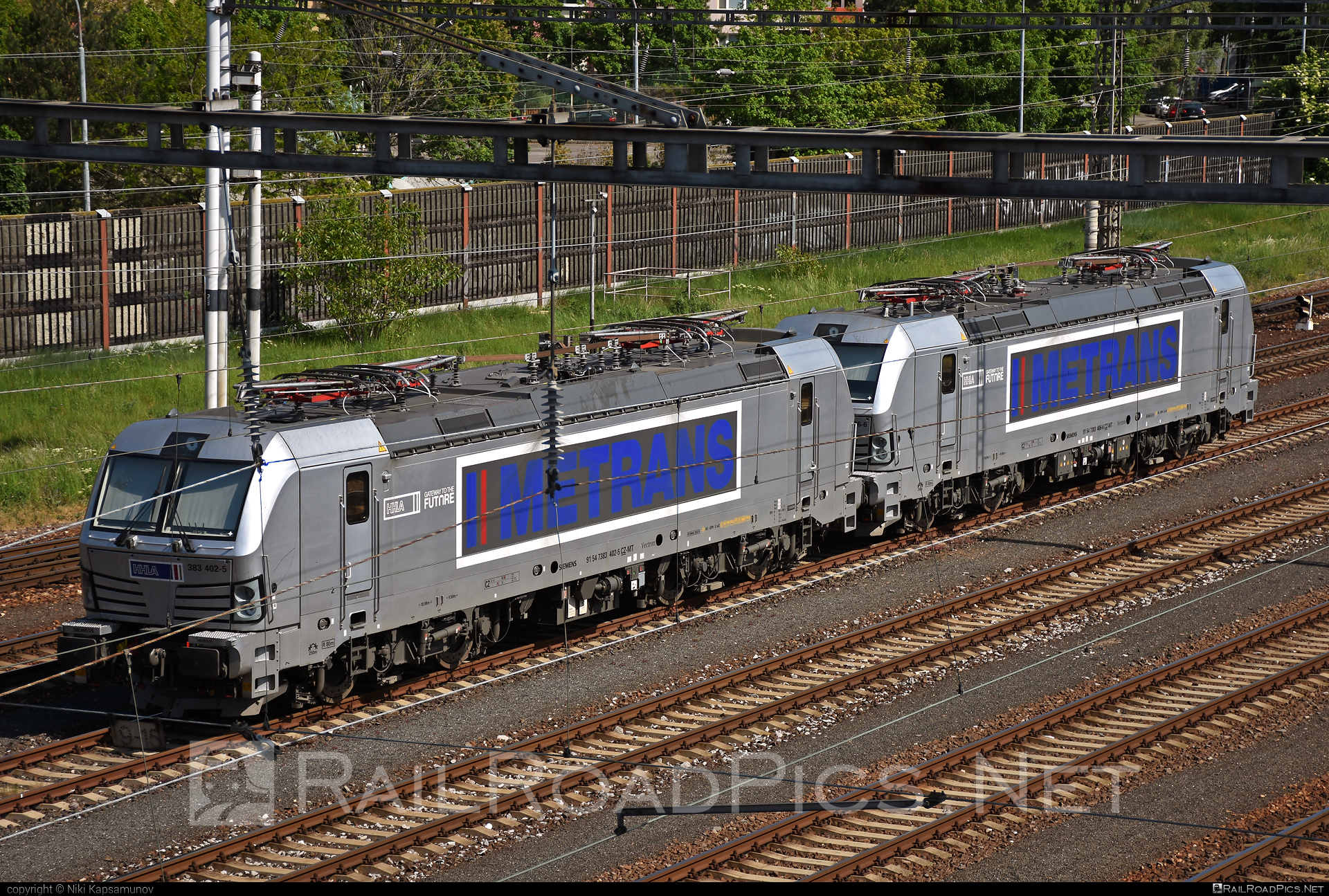 Siemens Vectron MS - 383 402-5 operated by METRANS, a.s. #hhla #metrans #siemens #siemensvectron #siemensvectronms #vectron #vectronms
