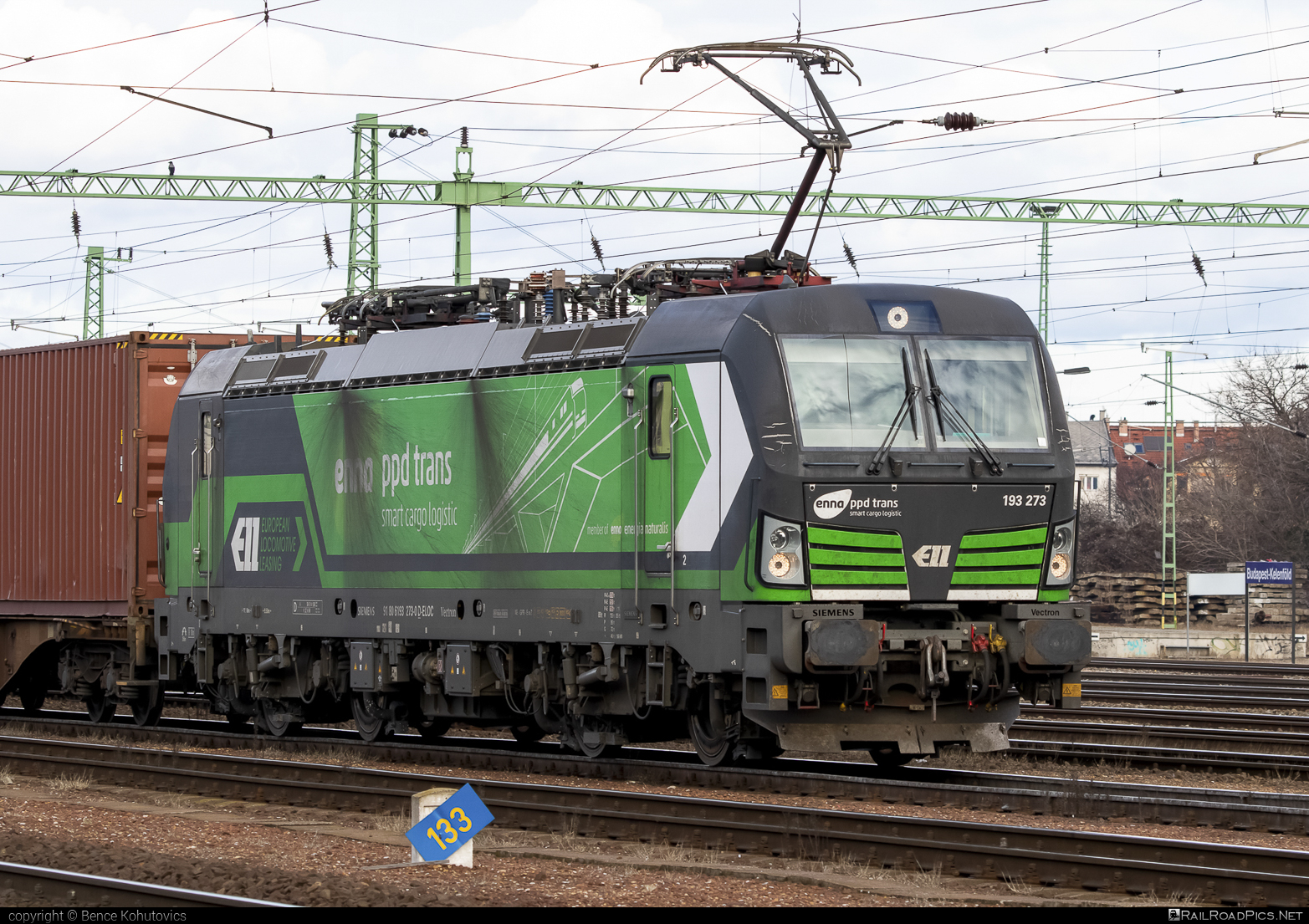 Siemens Vectron MS - 193 273-0 operated by ENNA TRANSPORT d.o.o. za prijevoz tereta #ell #ellgermany #eloc #enna #europeanlocomotiveleasing #siemens #siemensvectron #siemensvectronms #vectron #vectronms
