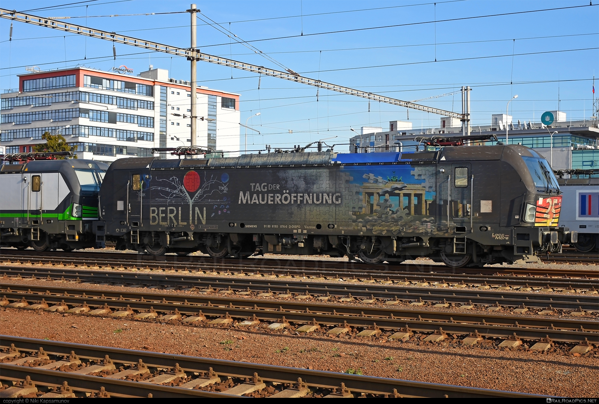Siemens Vectron AC - 193 876 operated by LTE Logistik und Transport GmbH #dispolok #lte #ltelogistikundtransport #ltelogistikundtransportgmbh #mitsuirailcapitaleurope #mitsuirailcapitaleuropegmbh #mrce #siemens #siemensvectron #siemensvectronac #vectron #vectronac