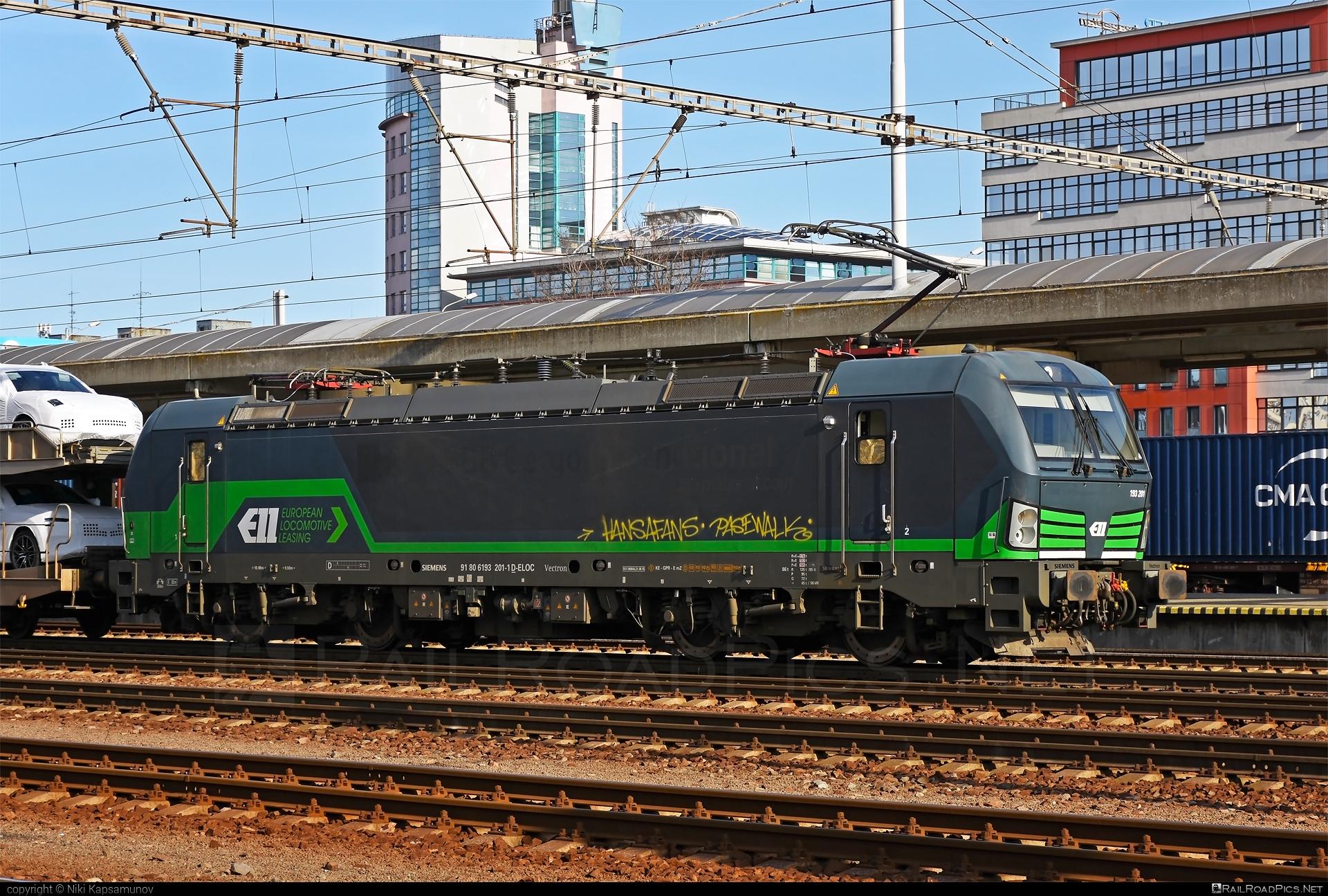 Siemens Vectron AC - 193 201 operated by ecco-rail GmbH #eccorail #eccorailgmbh #ell #ellgermany #eloc #europeanlocomotiveleasing #siemens #siemensvectron #siemensvectronac #vectron #vectronac