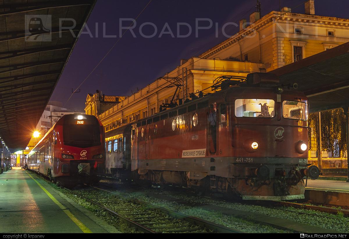 Končar JŽ class 441 - 441-751 operated by Železnice Srbije #ZelezniceSrbije #jz441 #koncar #koncar441
