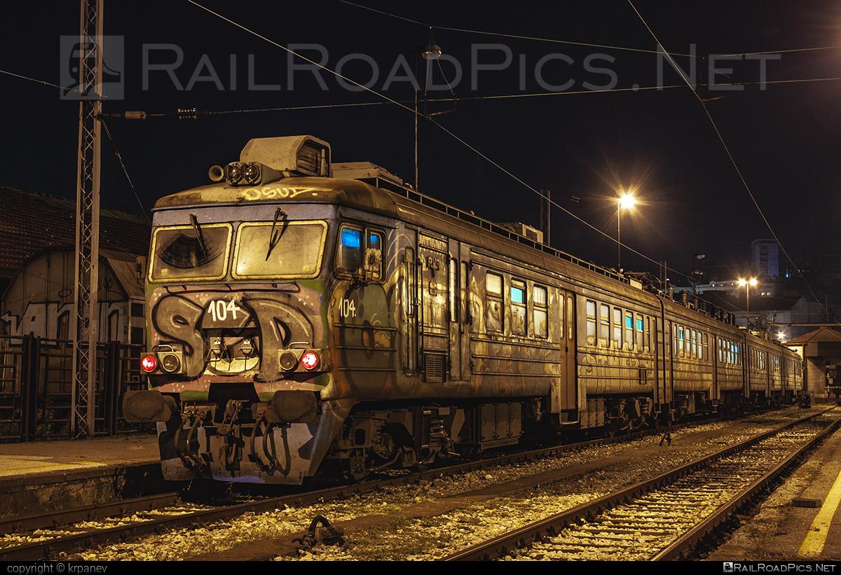 RVR ER31 - 412-104 operated by Železnice Srbije #RVRer31 #RigasVagonbuvesRupnica #ZelezniceSrbije #rvr #zs #zsclass412