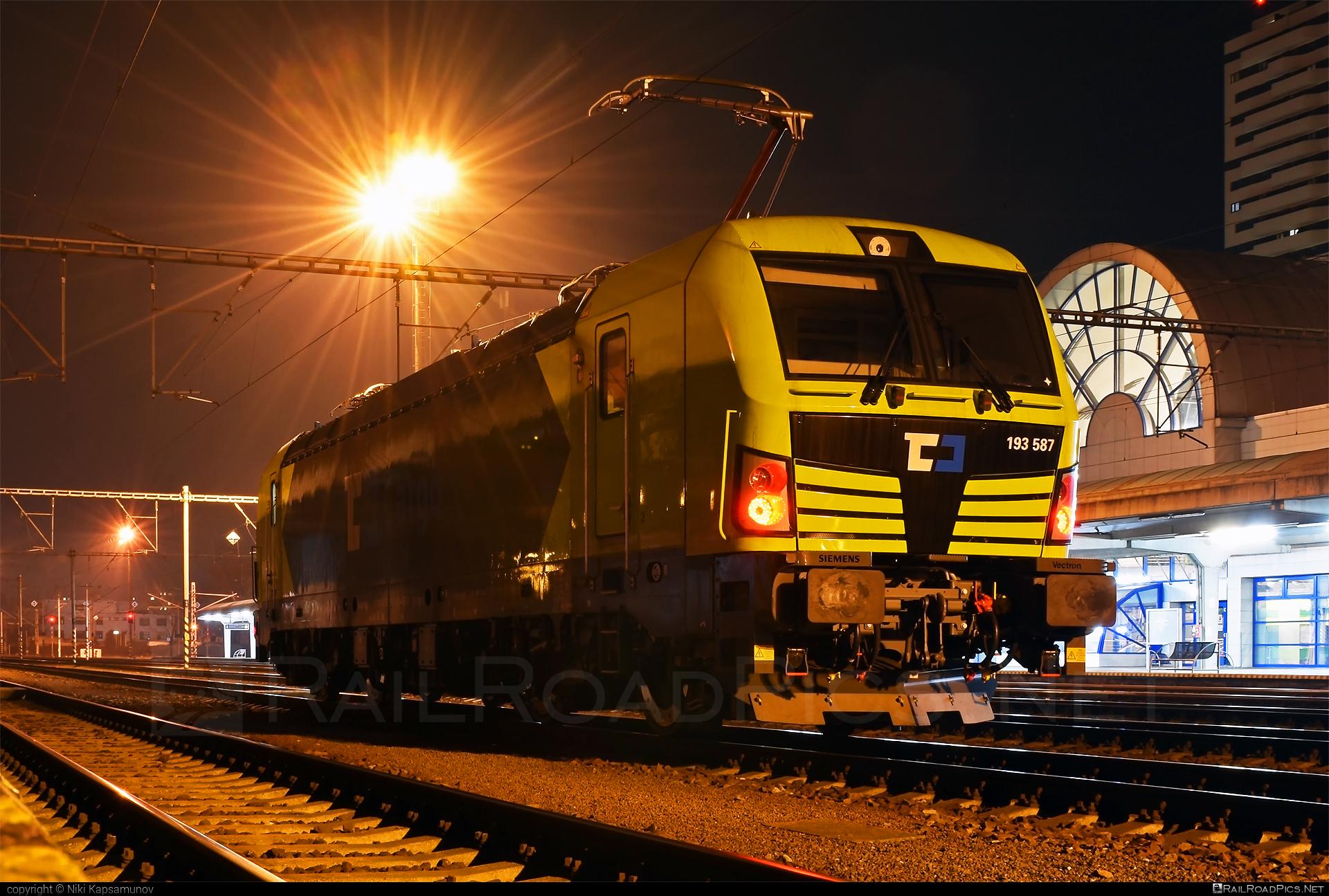 Siemens Vectron MS - 193 587 operated by ČD Cargo, a.s. #alphatrainsluxembourg #cdcargo #siemens #siemensvectron #siemensvectronms #vectron #vectronms