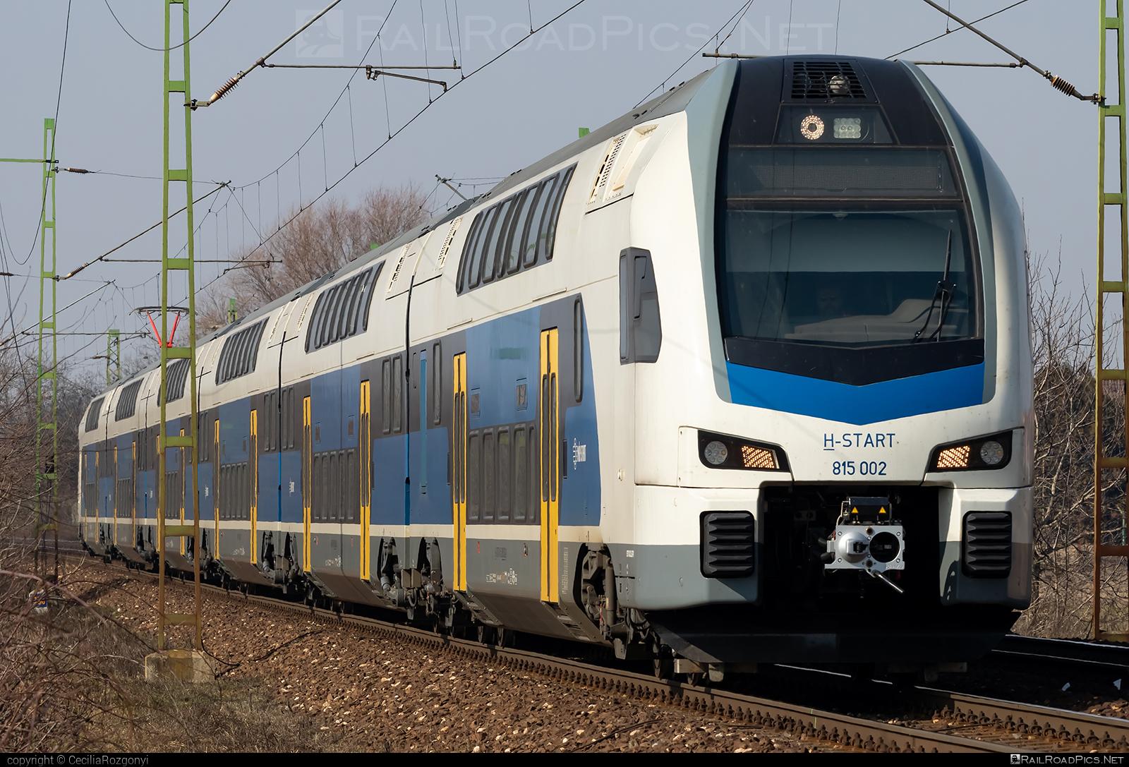 Stadler KISS - 815 002 operated by MÁV-START ZRt. #mav #mavstart #mavstartzrt #stadler #stadlerkiss #stadlerrail #stadlerrailag