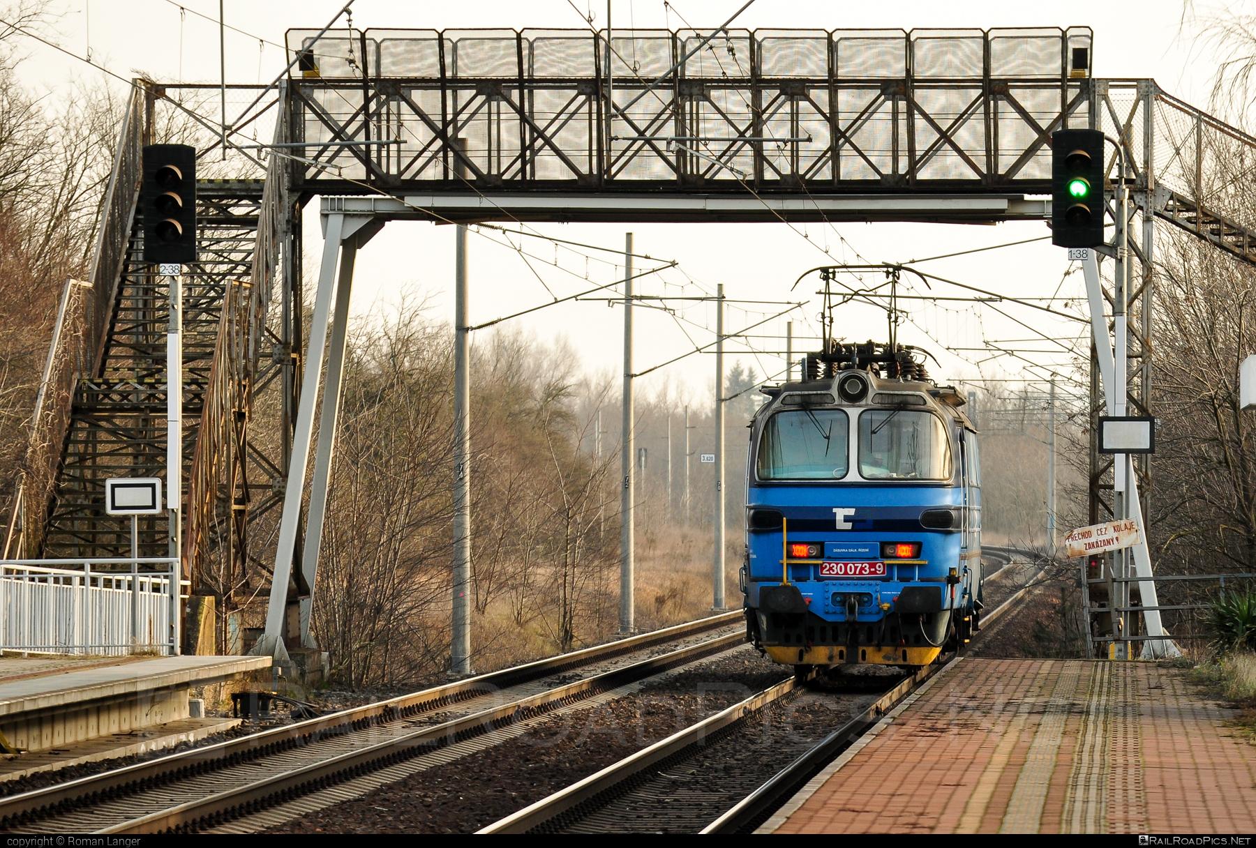 Škoda 47E - 230 073-9 operated by ČD Cargo, a.s. #cdcargo #laminatka #locomotive240 #skoda #skoda47e