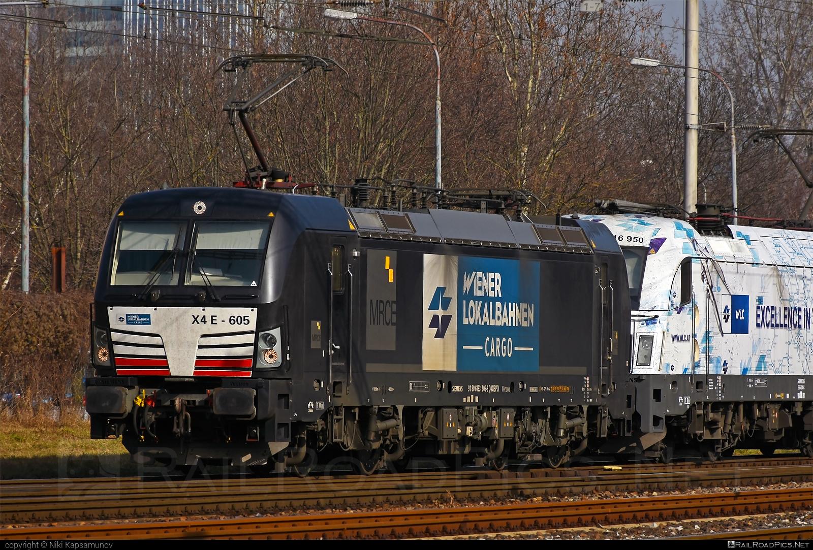 Siemens Vectron AC - 193 605 operated by Wiener Lokalbahnen Cargo GmbH #dispolok #mitsuirailcapitaleurope #mitsuirailcapitaleuropegmbh #mrce #siemens #siemensvectron #siemensvectronac #vectron #vectronac #wienerlokalbahnencargo #wienerlokalbahnencargogmbh #wlc