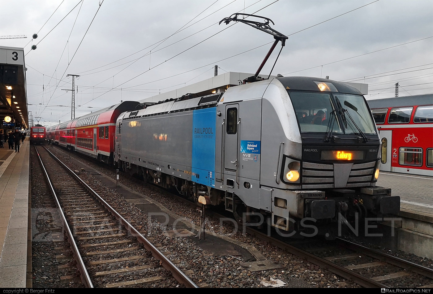 Siemens Vectron AC - 193 804-2 operated by DB Regio AG #DBregio #DBregioAG #railpool #railpoolgmbh #siemens #siemensvectron #siemensvectronac #vectron #vectronac