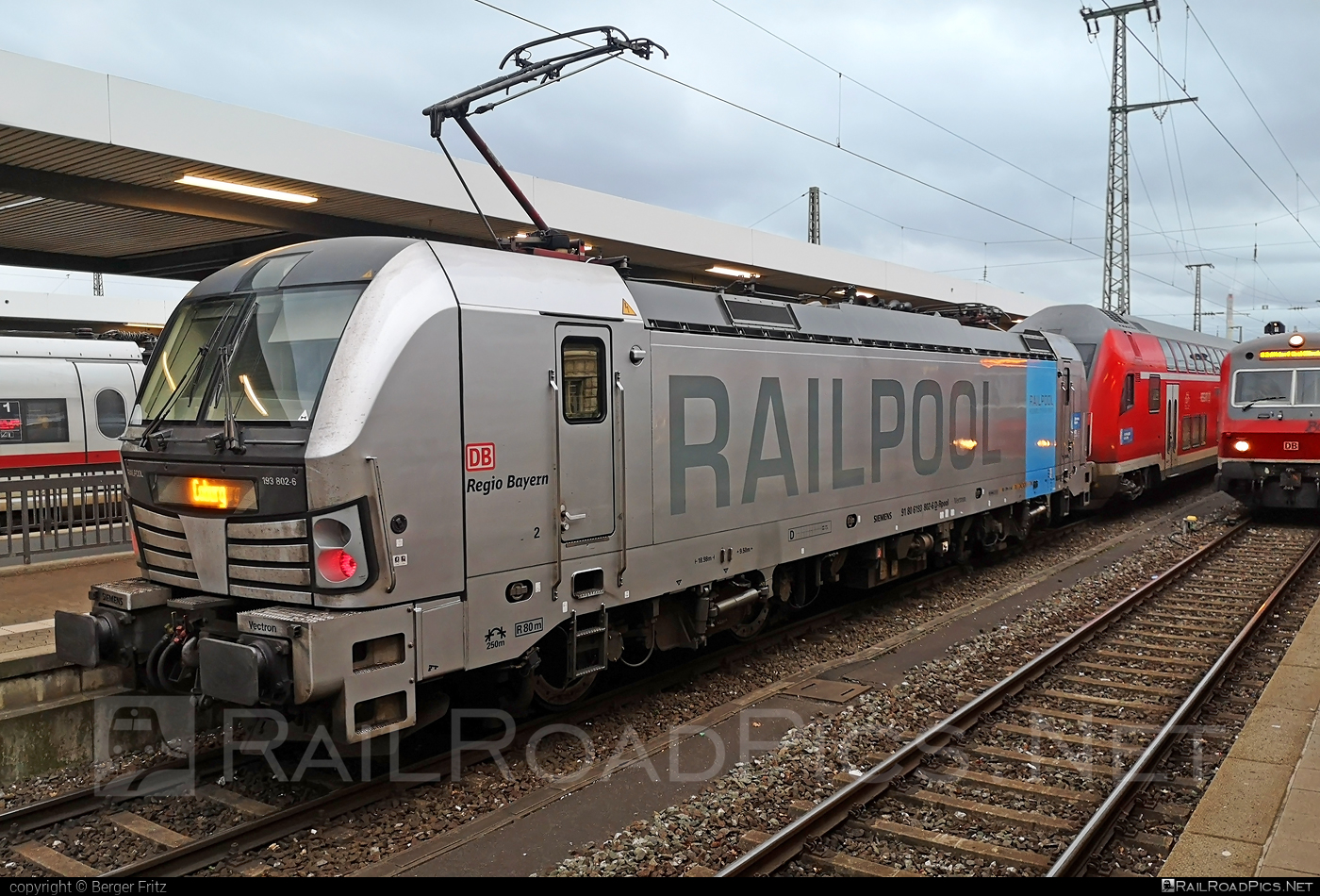Siemens Vectron AC - 193 802-6 operated by DB Regio AG #DBregio #DBregioAG #railpool #railpoolgmbh #siemens #siemensvectron #siemensvectronac #vectron #vectronac