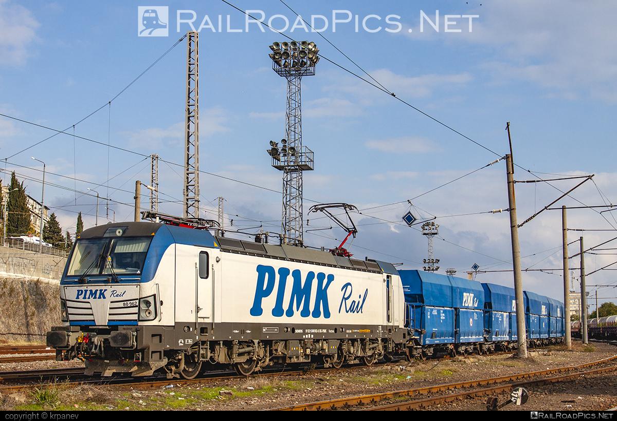 Siemens Vectron AC - 80 962 operated by PIMK Rail PLS #pimk #pimkrail #siemens #siemensvectron #siemensvectronac #vectron #vectronac