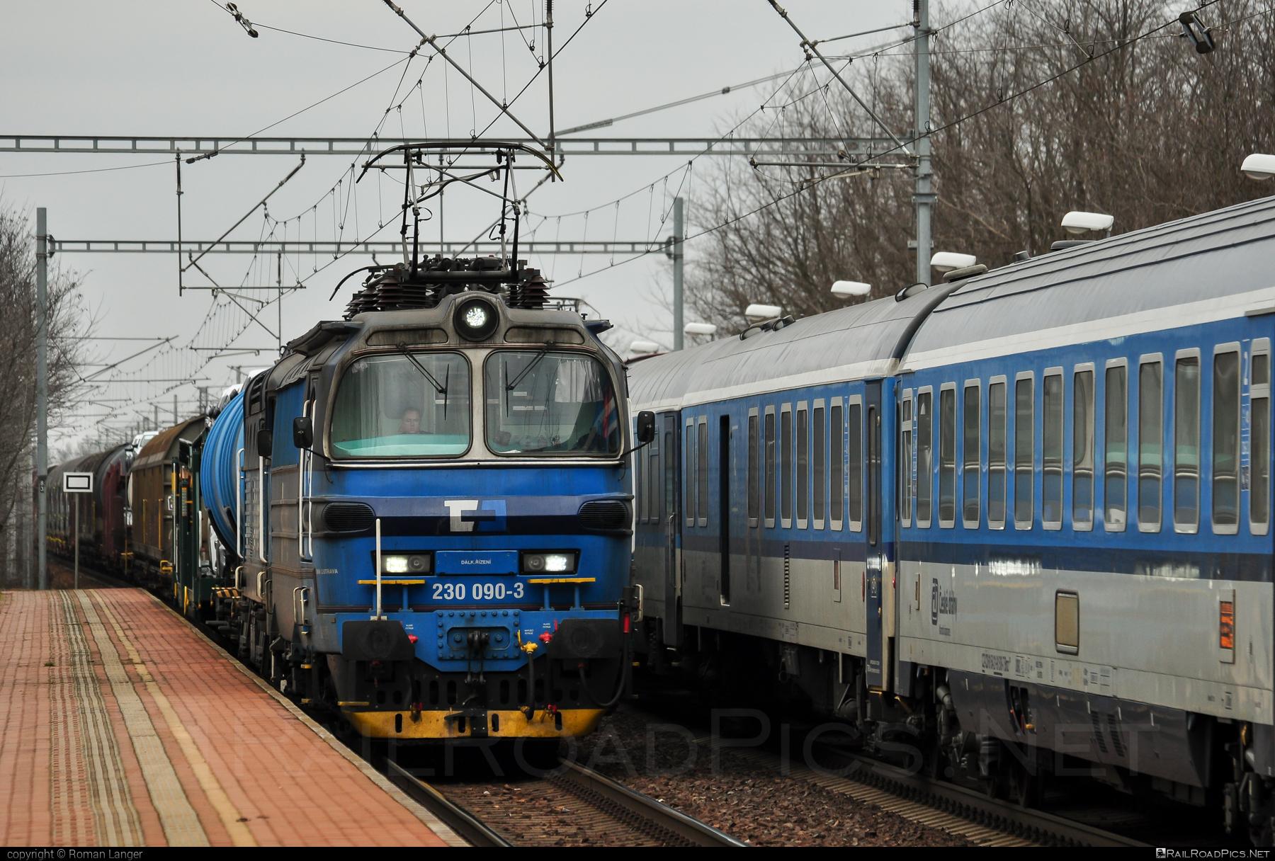 Škoda 47E - 230 090-3 operated by ČD Cargo, a.s. #cdcargo #laminatka #locomotive240 #skoda #skoda47e