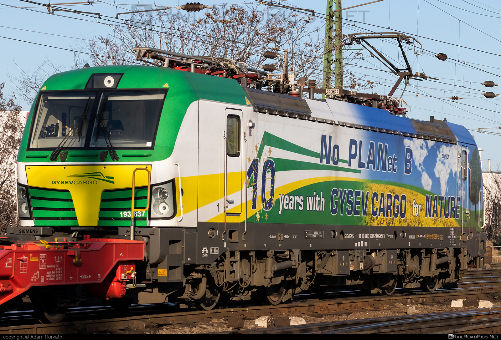 Siemens Vectron MS - 193 837 operated by GYSEV Cargo Zrt #gysev #gysevcargo #siemens #siemensvectron #siemensvectronms #vectron #vectronms