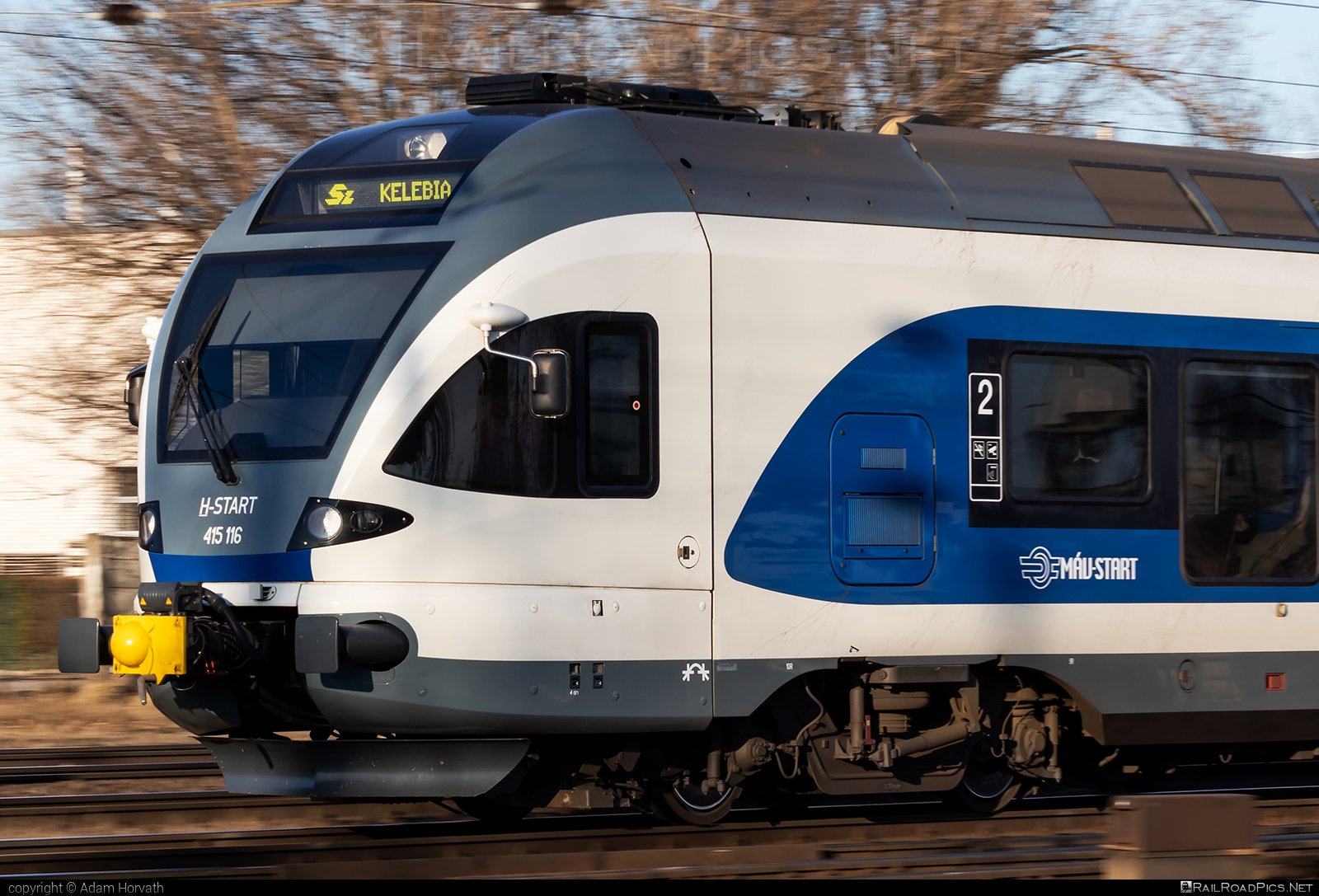 Stadler FLIRT - 415 116 operated by MÁV-START ZRt. #mav #mavstart #mavstartzrt #stadler #stadlerflirt #stadlerrail #stadlerrailag
