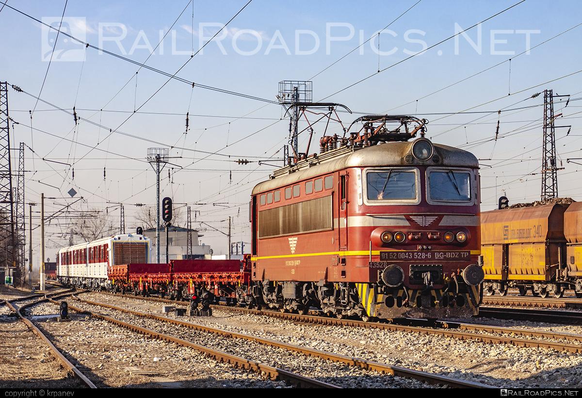 Škoda 64E - 43 528 operated by БДЖ - Товарни превози ЕOOД (БДЖTП) #BDZclass43 #plechac #skoda #skoda64e