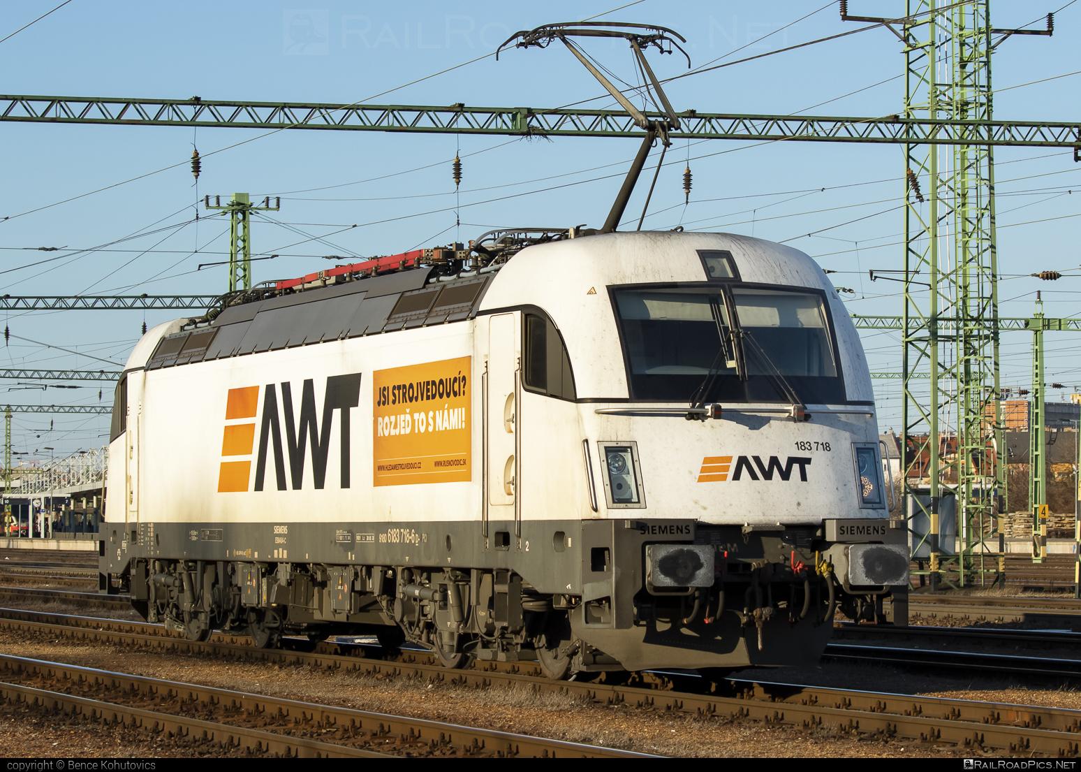 Siemens ES 64 U4 - 183 718 operated by PKP CARGO INTERNATIONAL a.s. #awt #es64 #es64u #es64u4 #eurosprinter #pkpcargointernational #pkpcargointernationalas #siemens #siemenses64 #siemenses64u #siemenses64u4 #siemenstaurus #taurus #tauruslocomotive