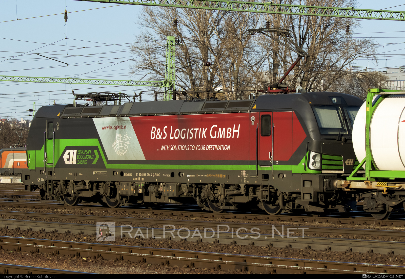 Siemens Vectron AC - 193 284 operated by Wiener Lokalbahnen Cargo GmbH #bslogistik #ell #ellgermany #eloc #europeanlocomotiveleasing #siemens #siemensvectron #siemensvectronac #vectron #vectronac #wienerlokalbahnencargo #wienerlokalbahnencargogmbh #wlc