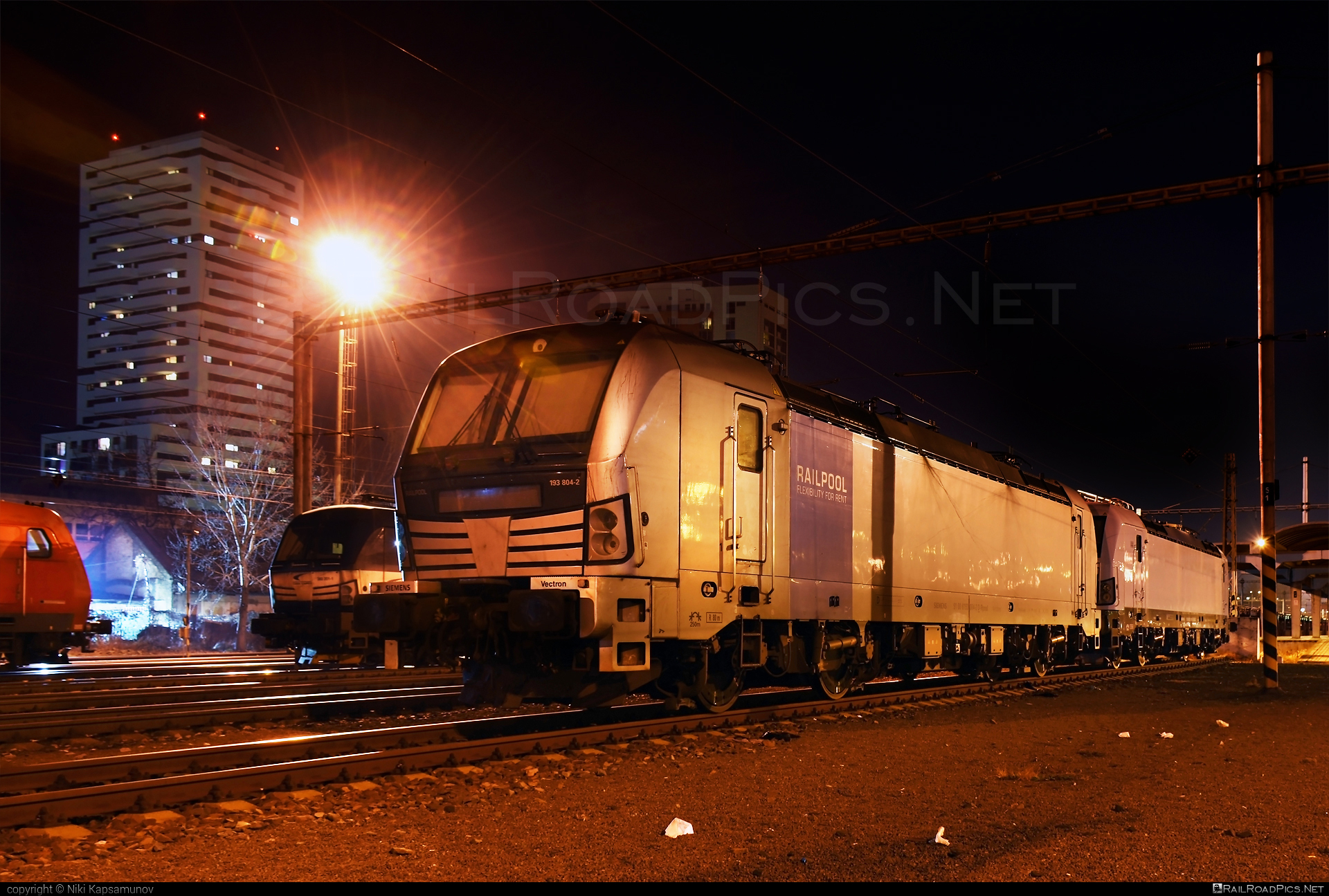 Siemens Vectron AC - 193 804-2 operated by ecco-rail GmbH #eccorail #eccorailgmbh #railpool #railpoolgmbh #siemens #siemensvectron #siemensvectronac #vectron #vectronac