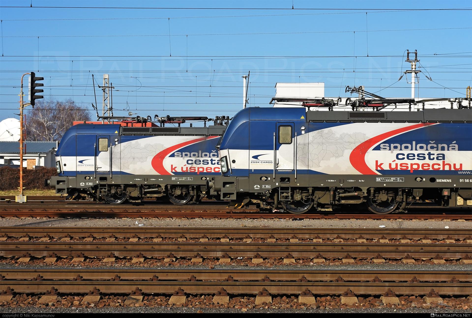 Siemens Vectron MS - 383 204-5 operated by Železničná Spoločnost' Cargo Slovakia a.s. #RollingStockLease #RollingStockLeaseSro #ZeleznicnaSpolocnostCargoSlovakia #raill #siemens #siemensvectron #siemensvectronms #vectron #vectronms #zsskcargo