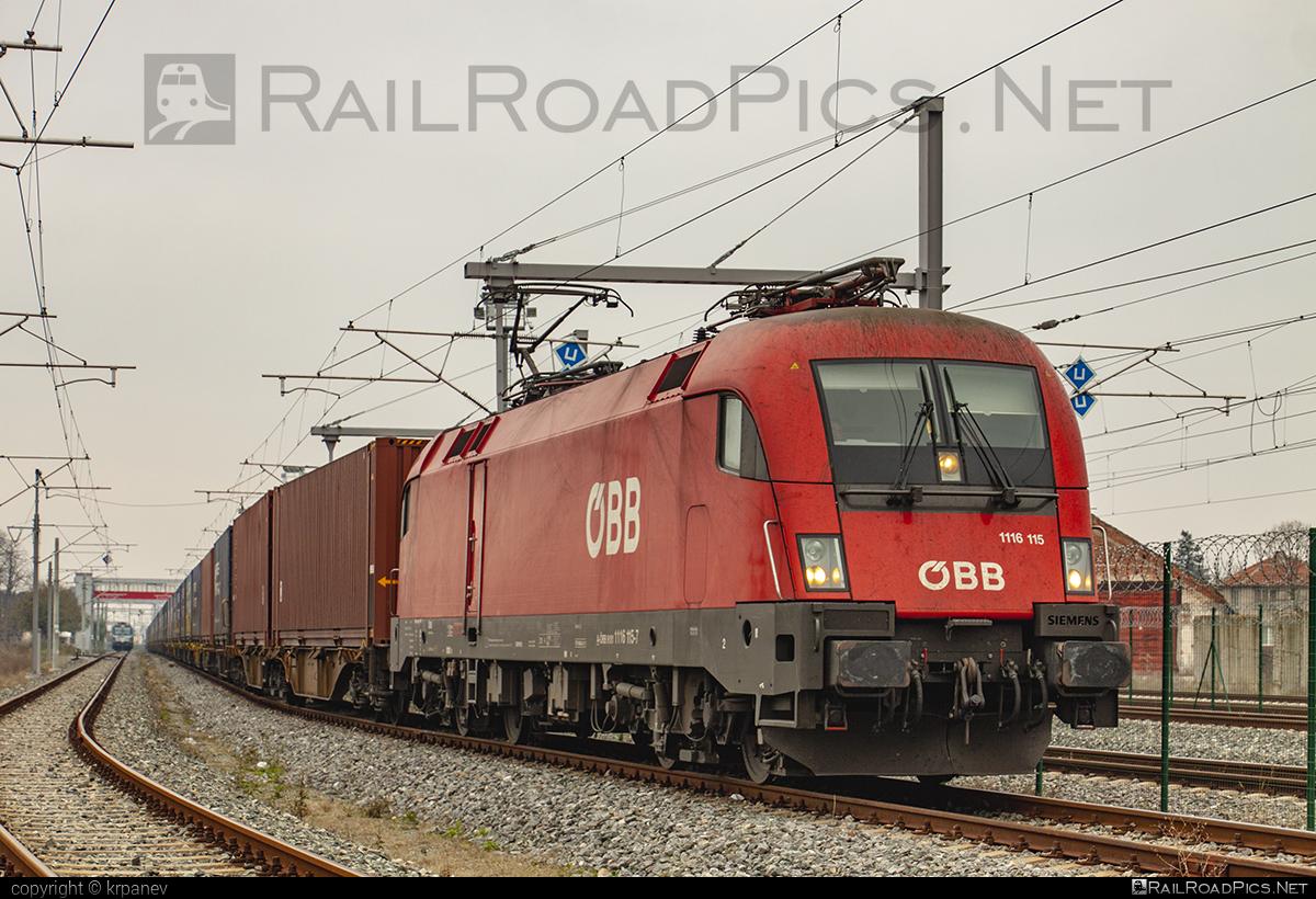 Siemens ES 64 U2 - 1116 115 operated by Rail Cargo Austria AG #es64 #es64u #es64u2 #eurosprinter #obb #osterreichischebundesbahnen #rcw #siemens #siemenses64 #siemenses64u #siemenses64u2 #siemenstaurus #taurus #tauruslocomotive