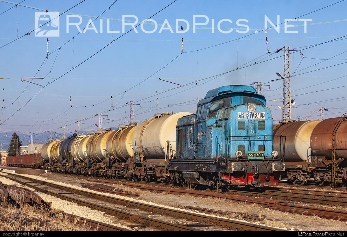 23 August Works (FAUR) LDH125 - 55 270.3 operated by Port Rail OOD #23augustworks #faur #faur125 #faurldh125 #kesselwagen #ldh125 #portrail #tankwagon #uzinele23august
