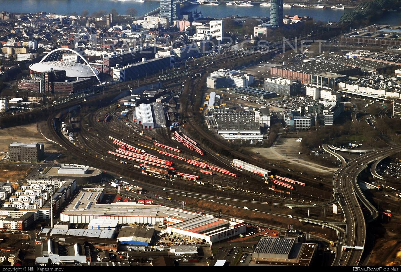 Köln-Deutzerfeld depot location overview #KolnDeutzerfeld #db #dbregio