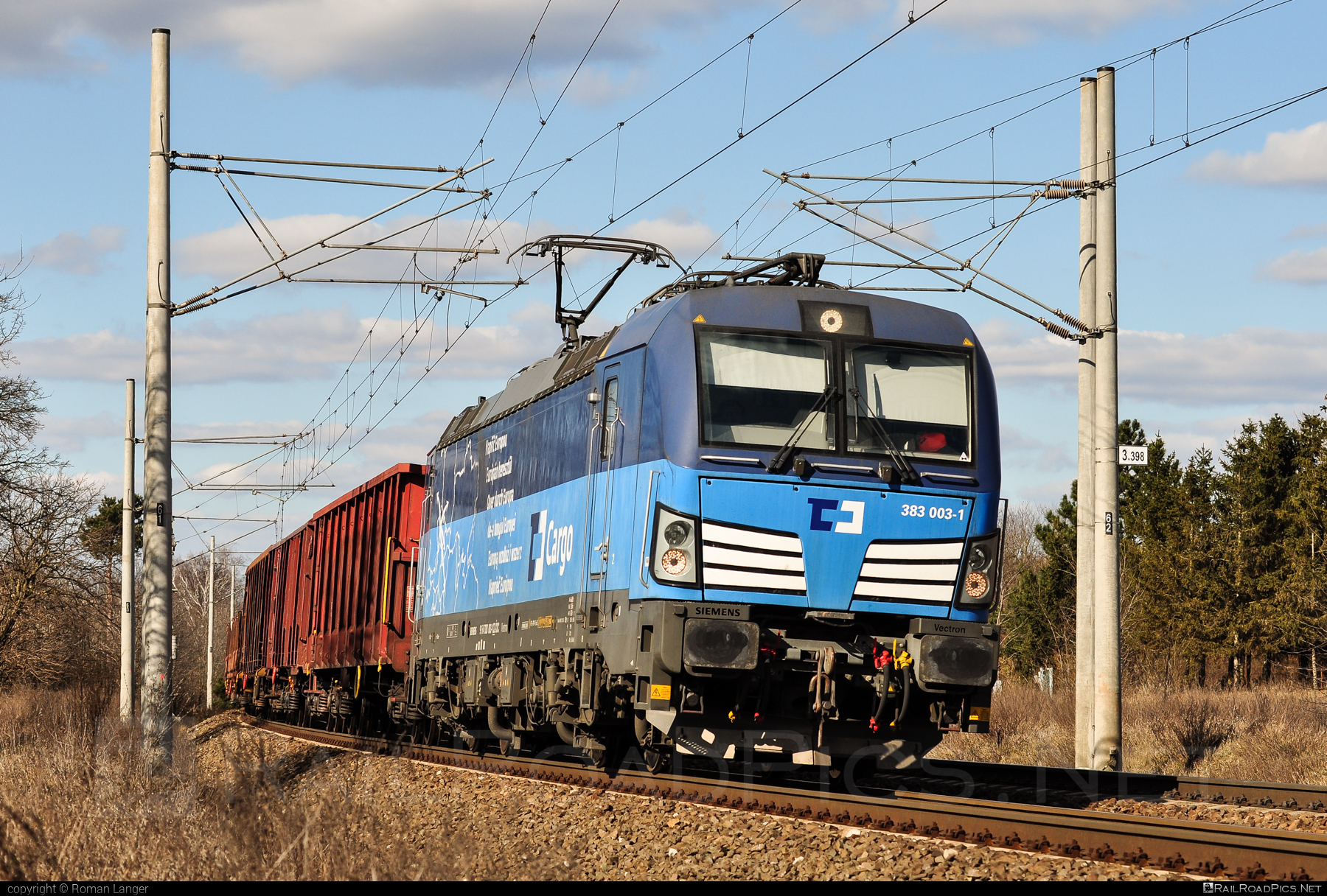 Siemens Vectron MS - 383 003-1 operated by ČD Cargo, a.s. #cdcargo #siemens #siemensvectron #siemensvectronms #vectron #vectronms