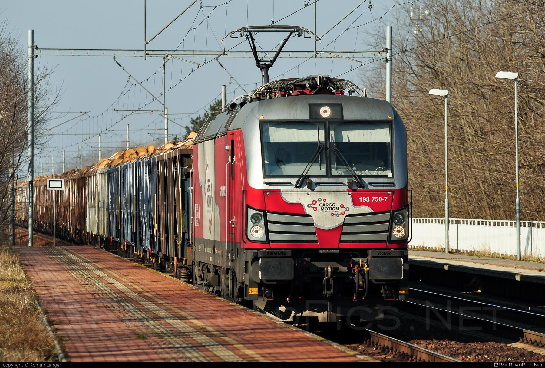 Siemens Vectron MS - 193 750-7 operated by Cargo Motion s.r.o. #CargoMotion #CargoMotionAS #ell #ellgermany #eloc #europeanlocomotiveleasing #siemens #siemensvectron #siemensvectronms #vectron #vectronms